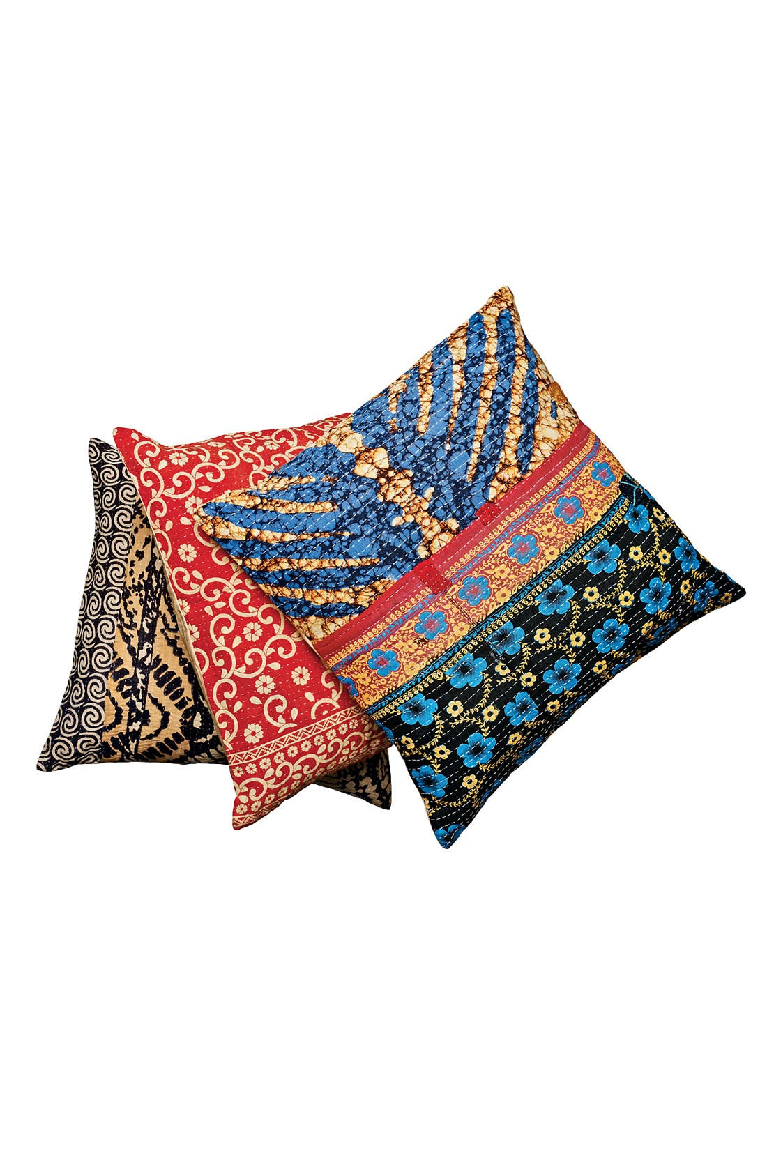 Alternate Image 2  - Rizzy Home 'Kantha' Pillow
