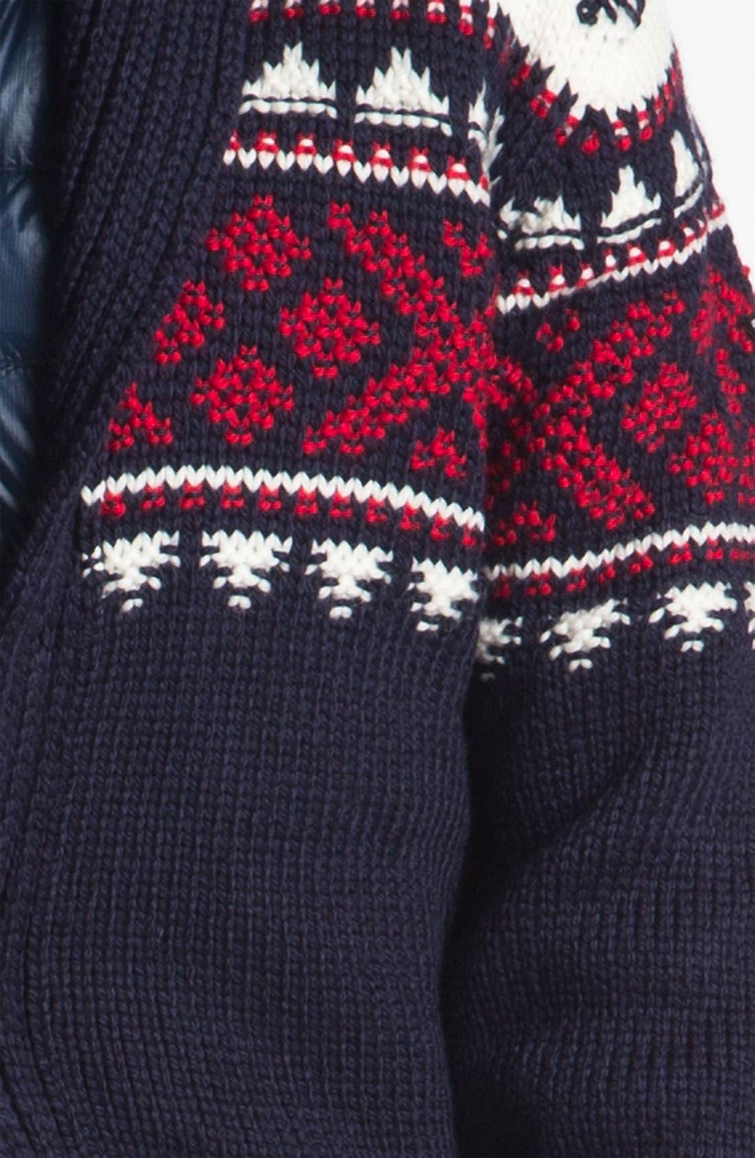 Alternate Image 3  - Dale of Norway 'Valle' Shawl Collar Wool Cardigan