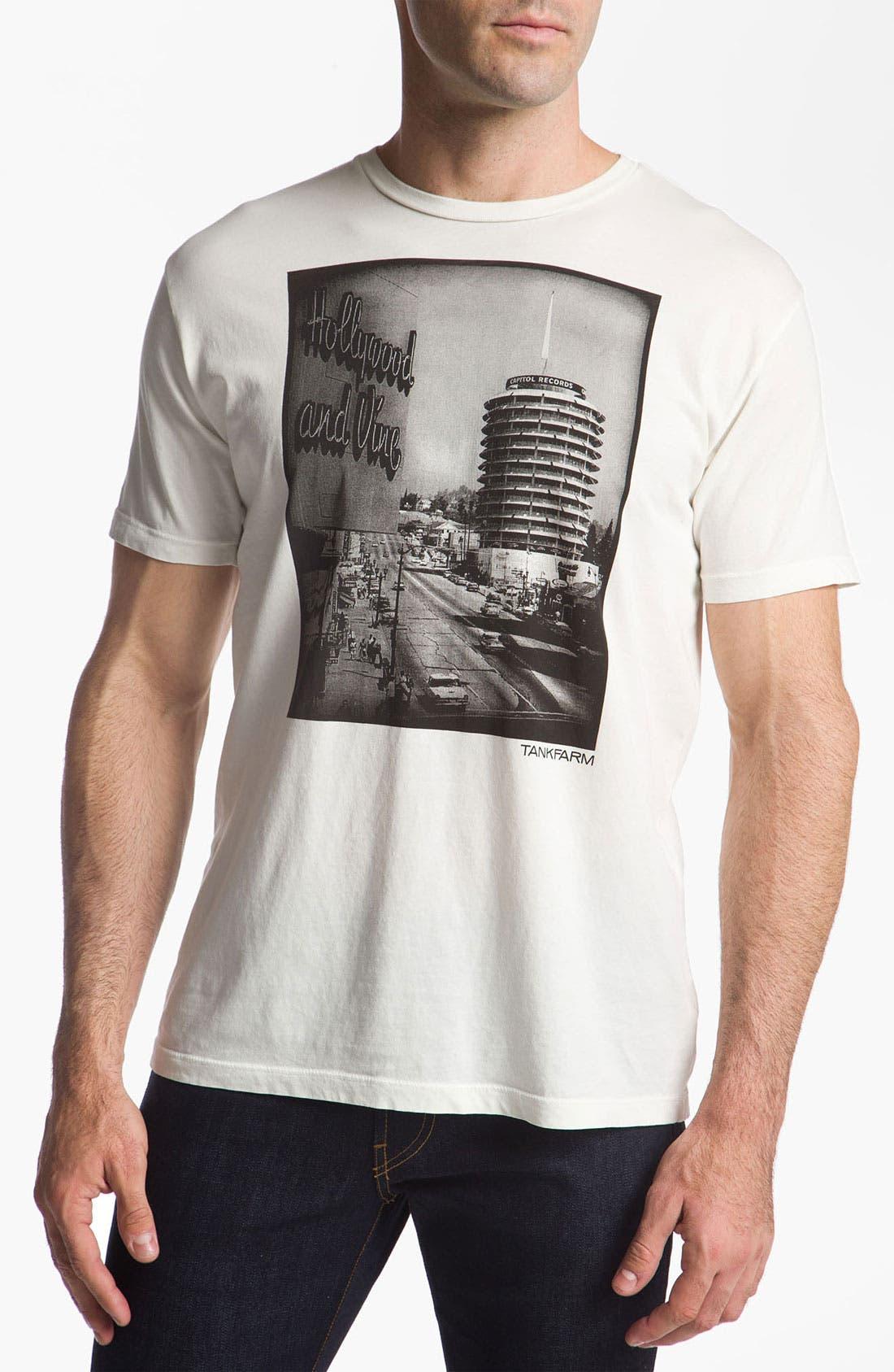 Alternate Image 1 Selected - Tankfarm 'Hollywood & Vine' T-Shirt