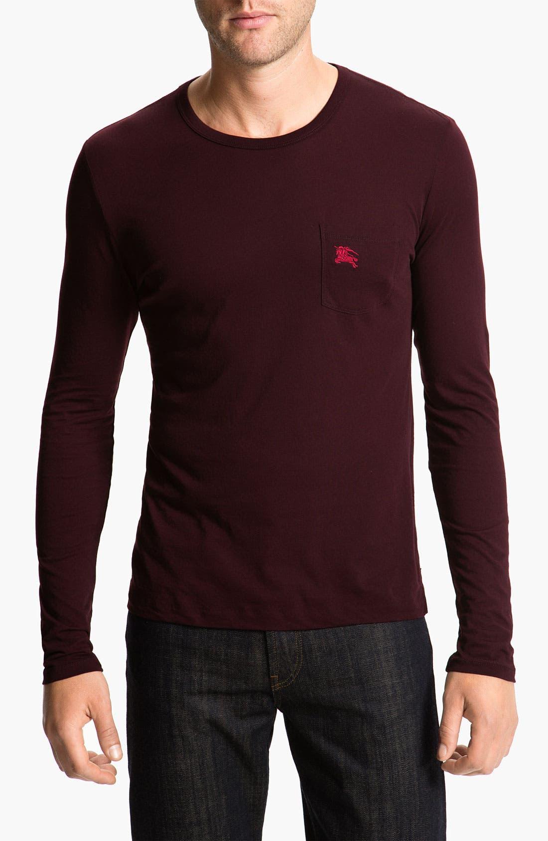 Alternate Image 1 Selected - Burberry Brit Long Sleeve T-Shirt