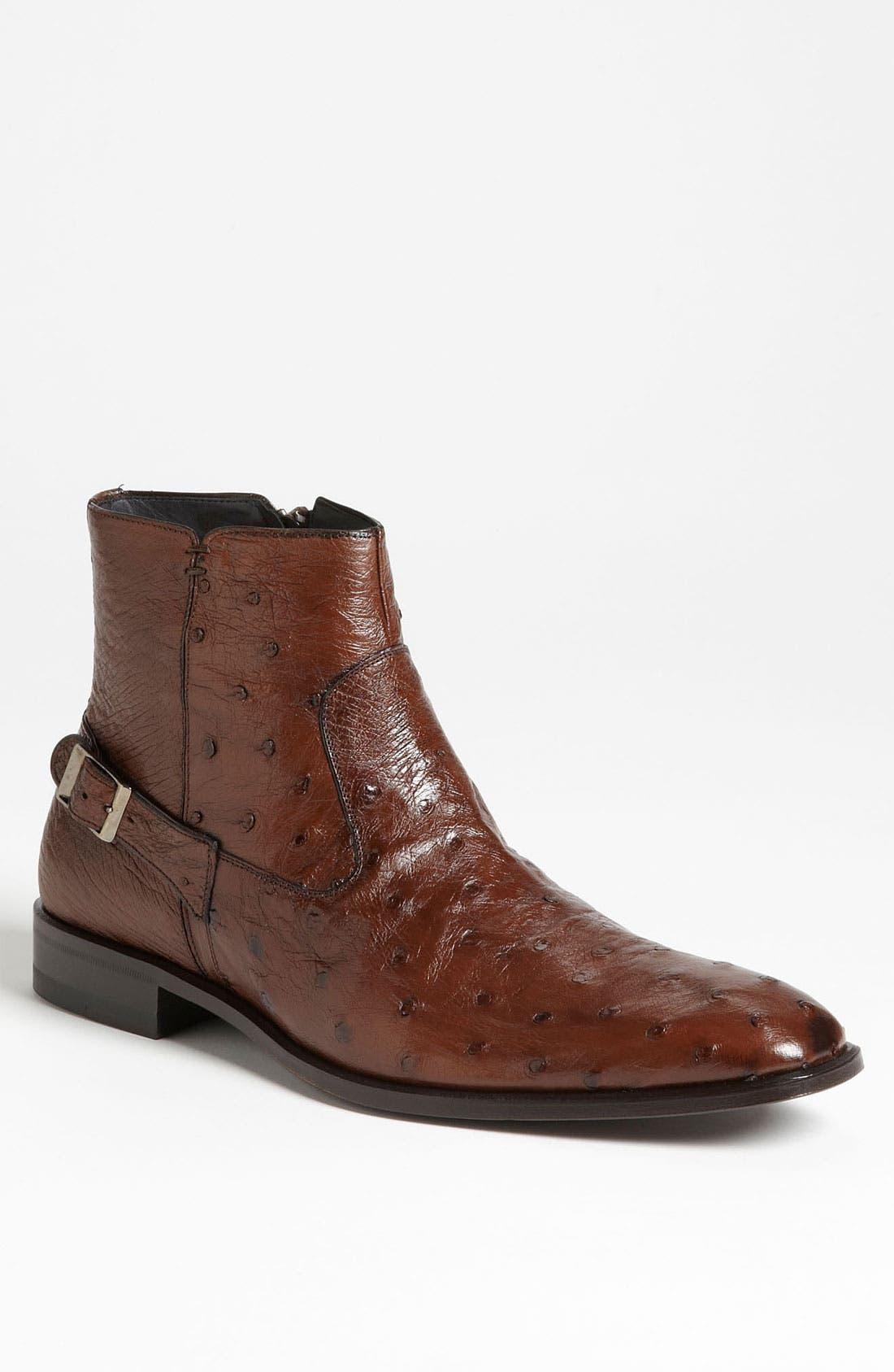 Main Image - Mezlan 'Bravo' Ostrich Boot