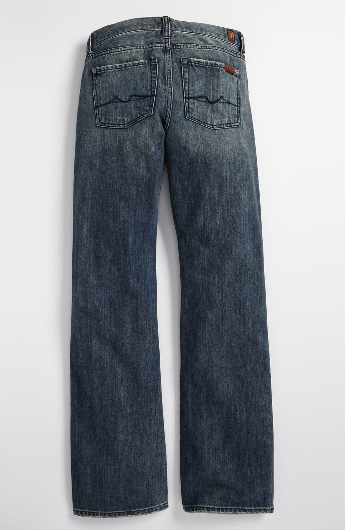 Alternate Image 1 Selected - 7 For All Mankind® Bootcut Jeans (Little Boys)