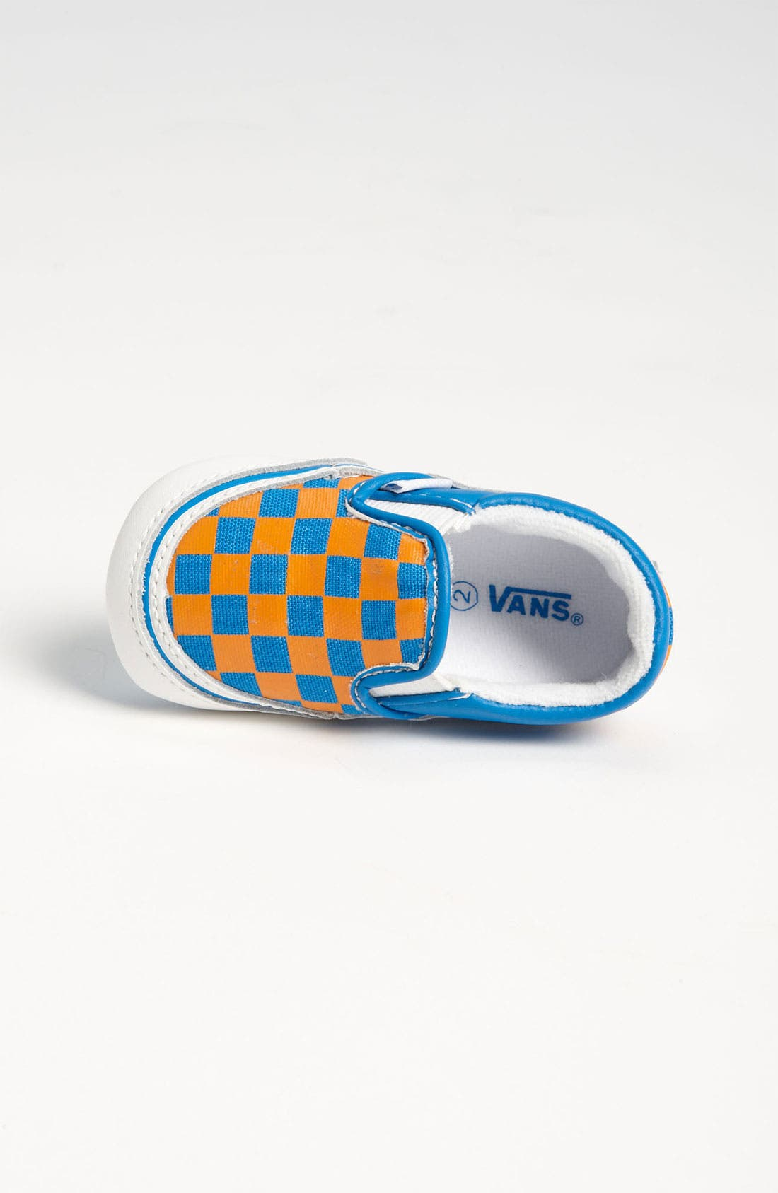 Alternate Image 3  - Vans 'Classic - Checker' Crib Shoe (Infant)