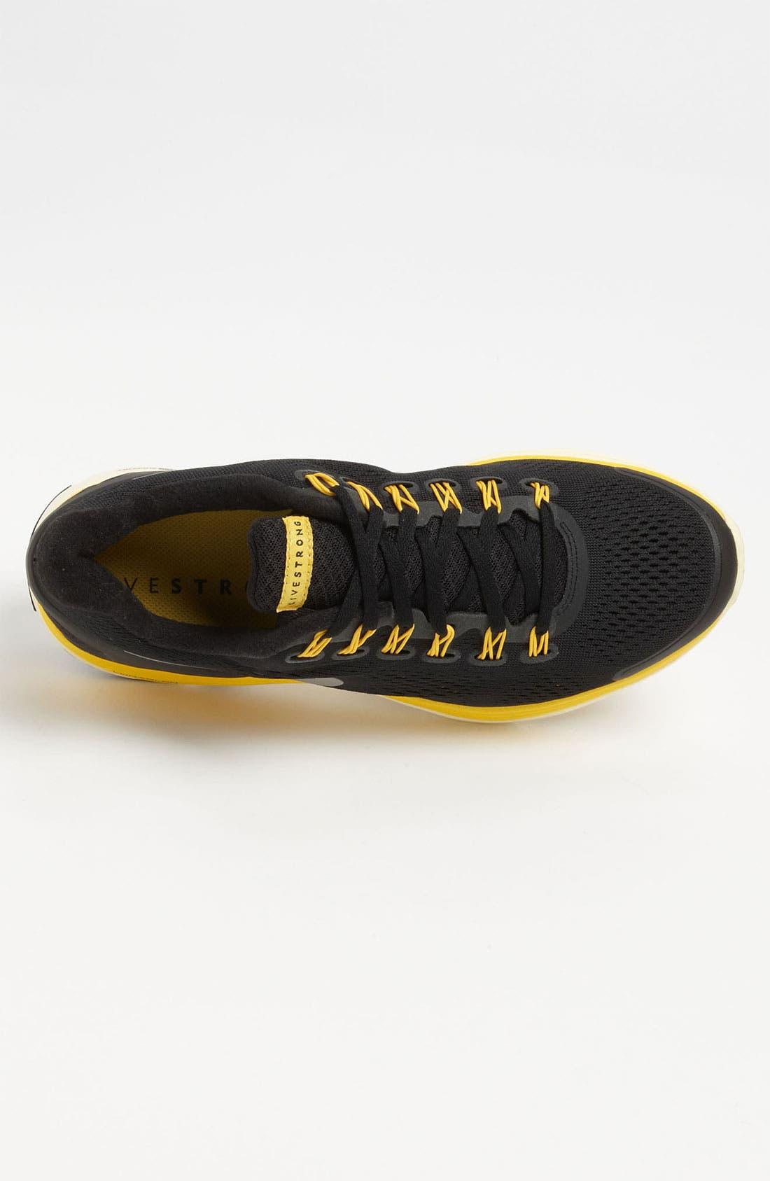 Alternate Image 3  - Nike 'LIVESTRONG LunarGlide+ 4' Running Shoe (Men)