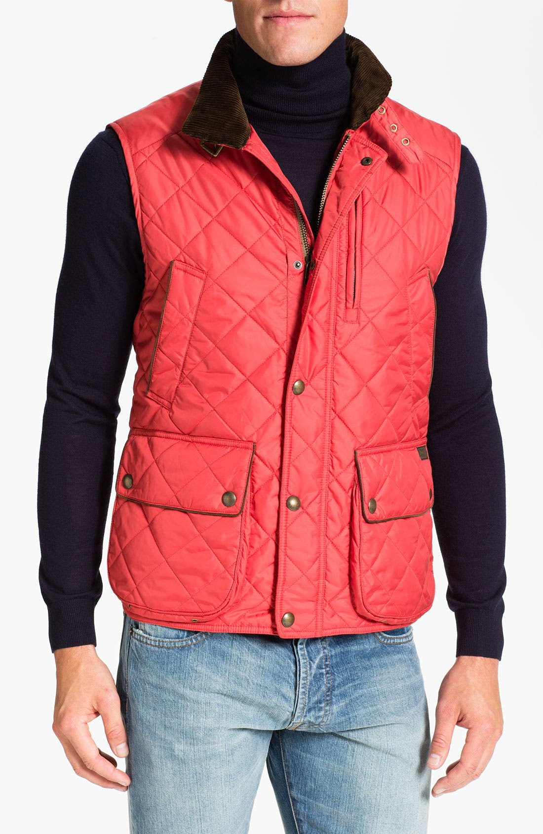 Alternate Image 1 Selected - Polo Ralph Lauren Classic Fit Quilted Vest