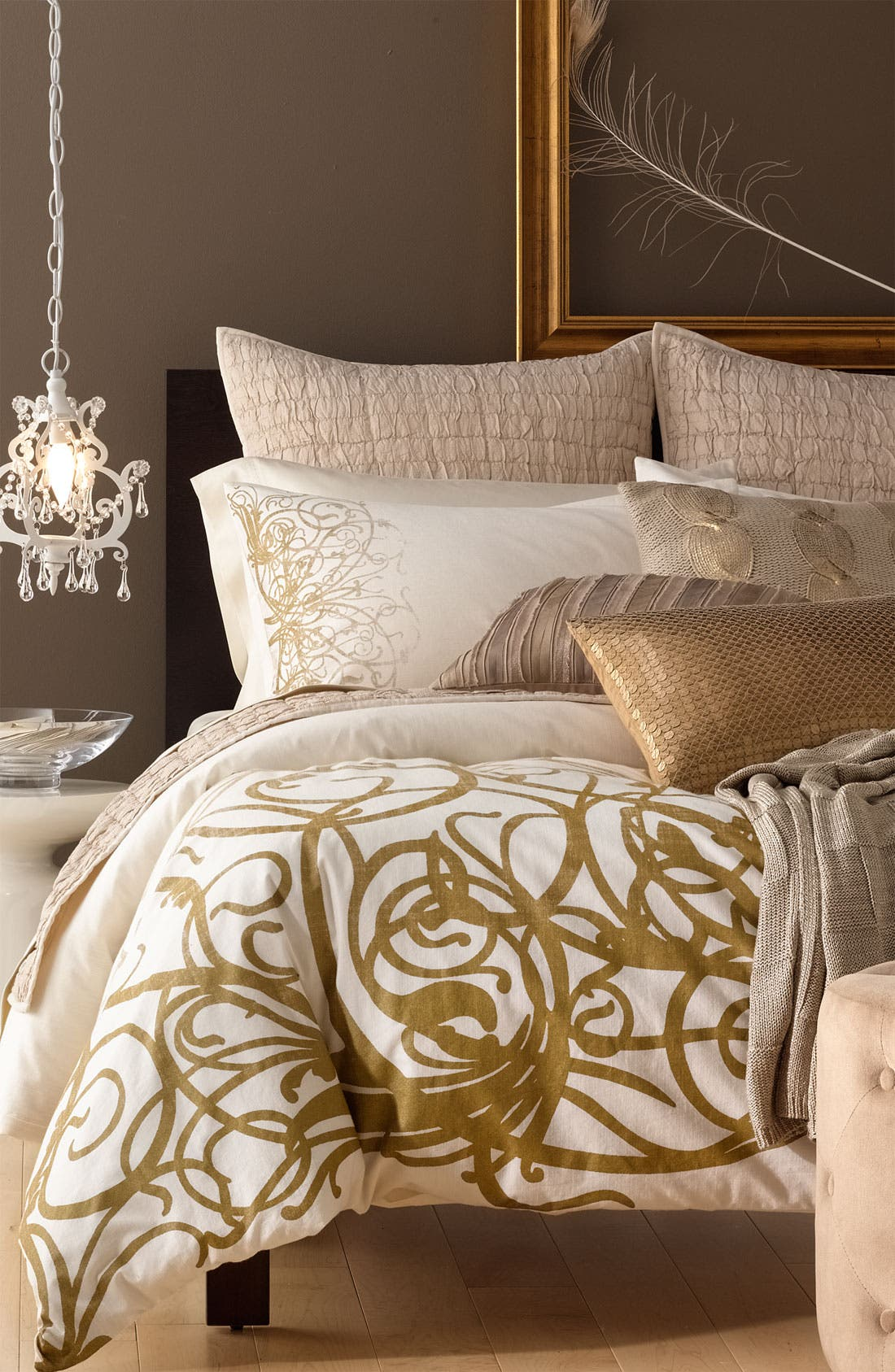 Alternate Image 4  - Nordstrom at Home 'Alice' Metallic Euro Sham
