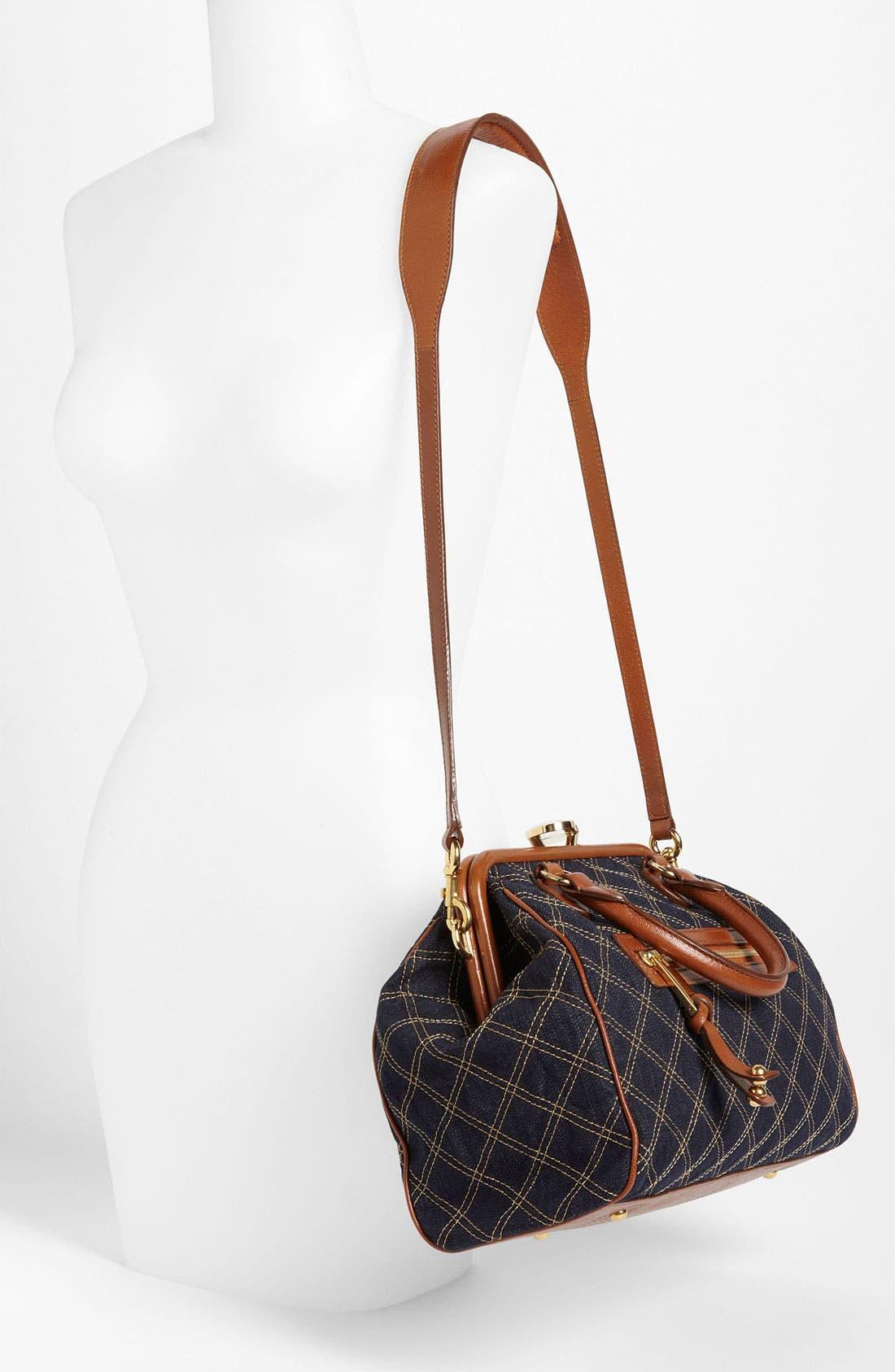 Alternate Image 2  - MARC JACOBS 'Mini Denim' Stam Bag