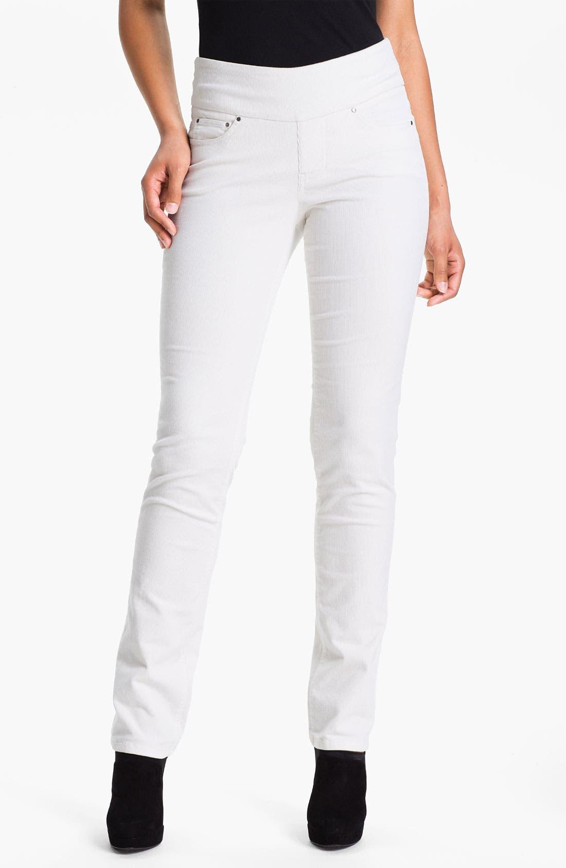 Main Image - Jag Jeans 'Peri' Straight Leg Corduroy Pants (Petite)