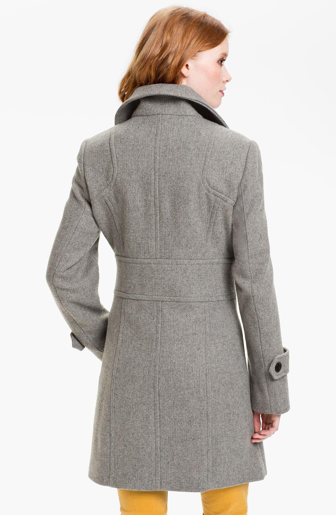 Alternate Image 2  - Marc New York Zip Pocket Walking Coat (Online Exclusive)