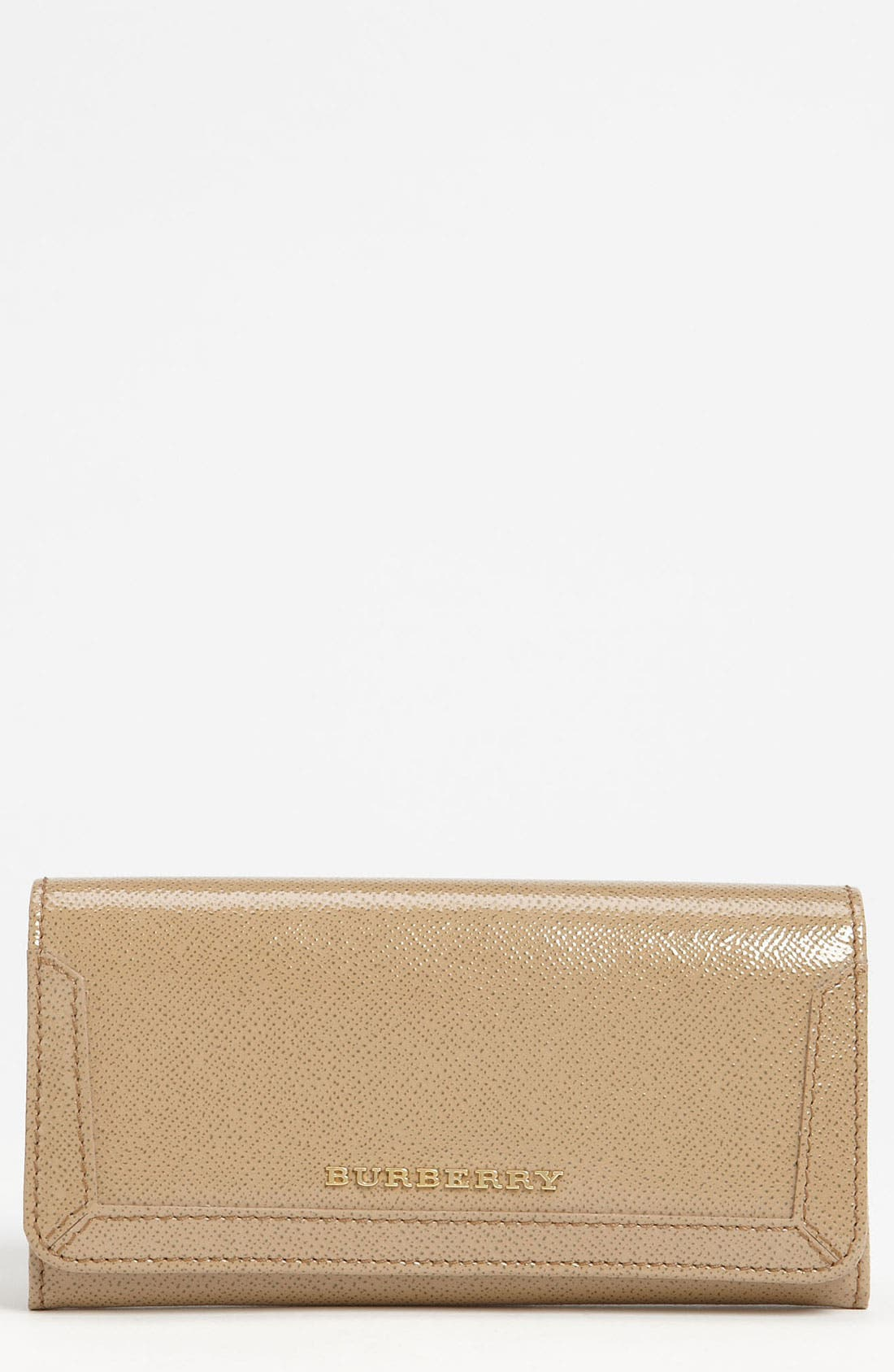 Alternate Image 1 Selected - Burberry Patent Leather Wallet