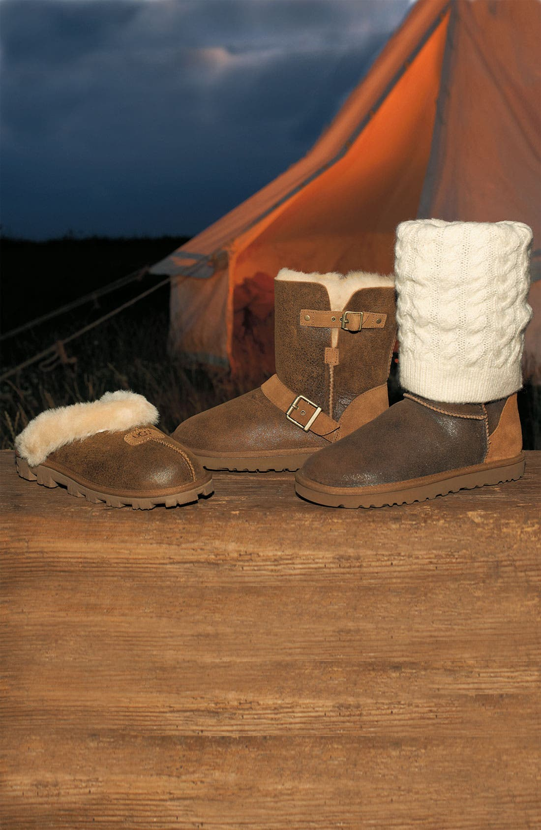 Alternate Image 6  - UGG® Australia 'Tularosa Route Detachable' Boot with Removable Knit Overlay (Women)