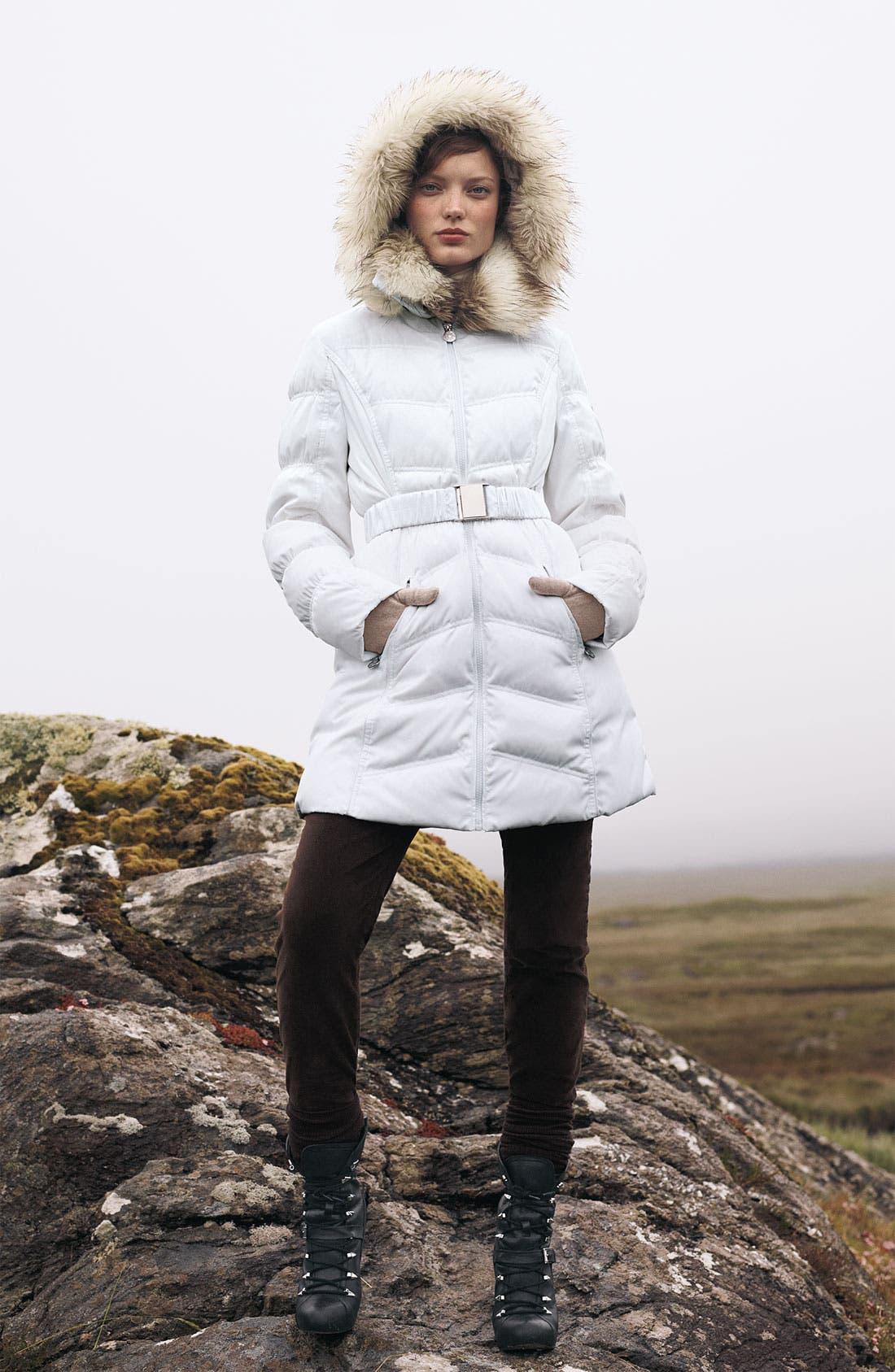 Alternate Image 4  - Laundry by Shelli Segal Faux Fur Trim Parka