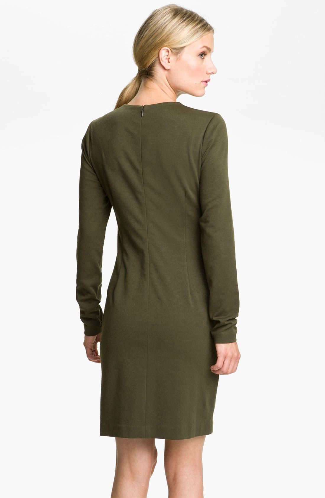 Alternate Image 2  - MICHAEL Michael Kors Toggle Neck Dress