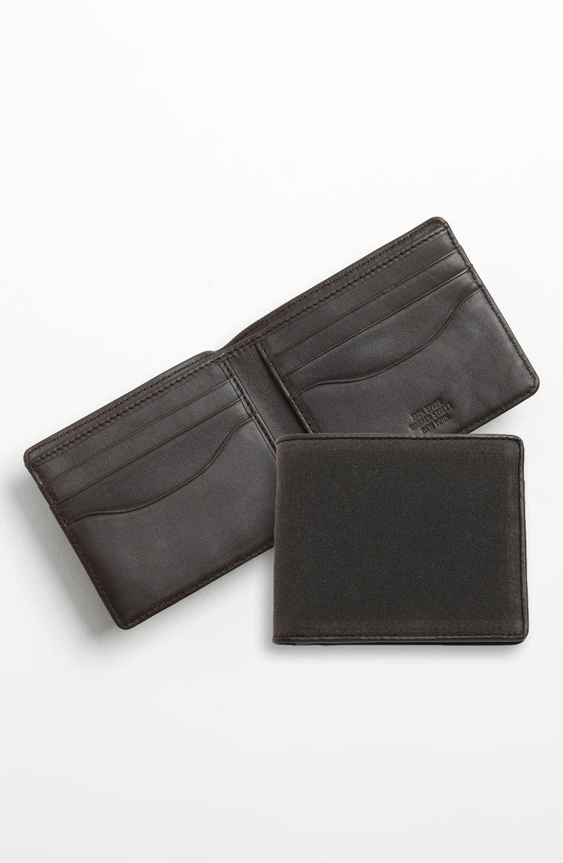 Alternate Image 1 Selected - Jack Spade 'Waxwear' Wallet