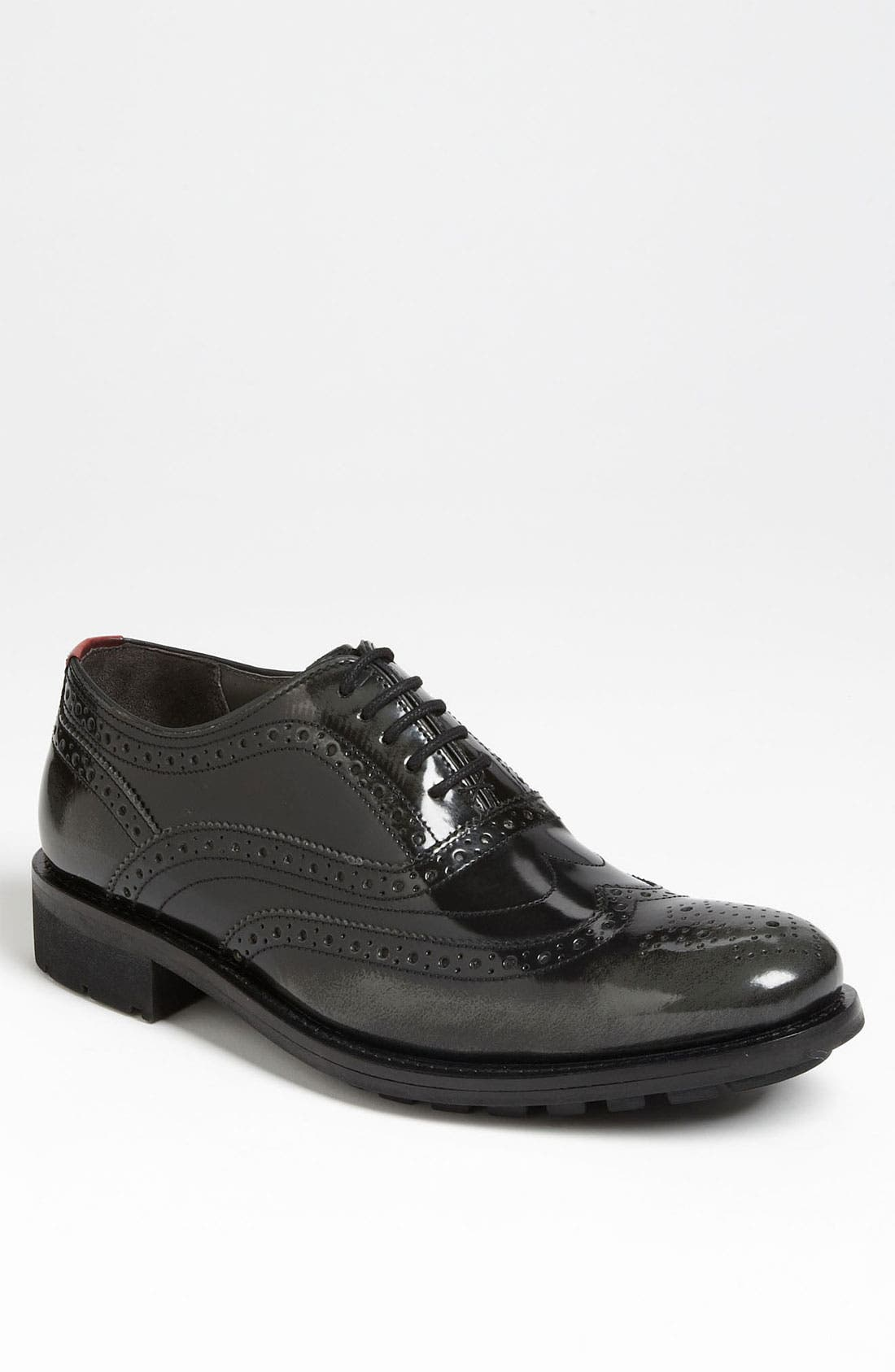 Main Image - Ted Baker London 'Guri-Rub' Wingtip Oxford