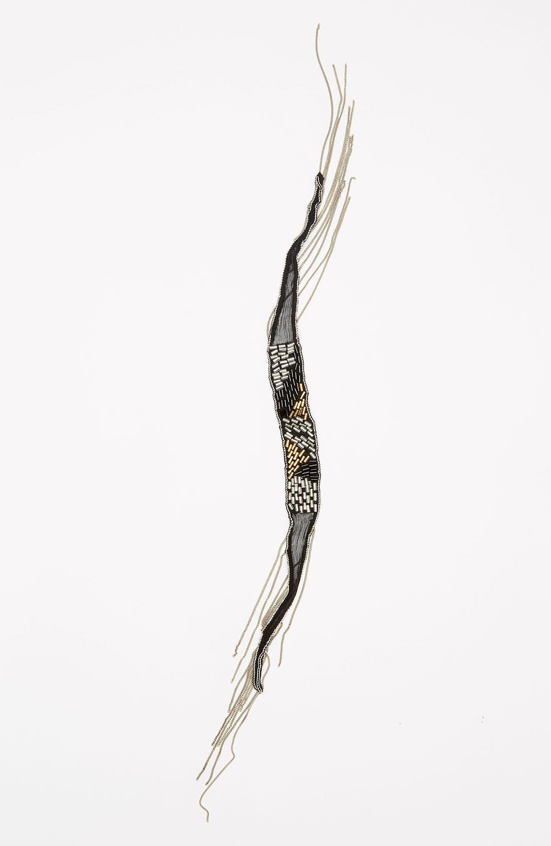 Alternate Image 2  - Chan Luu Silk Chiffon Tie Bracelet