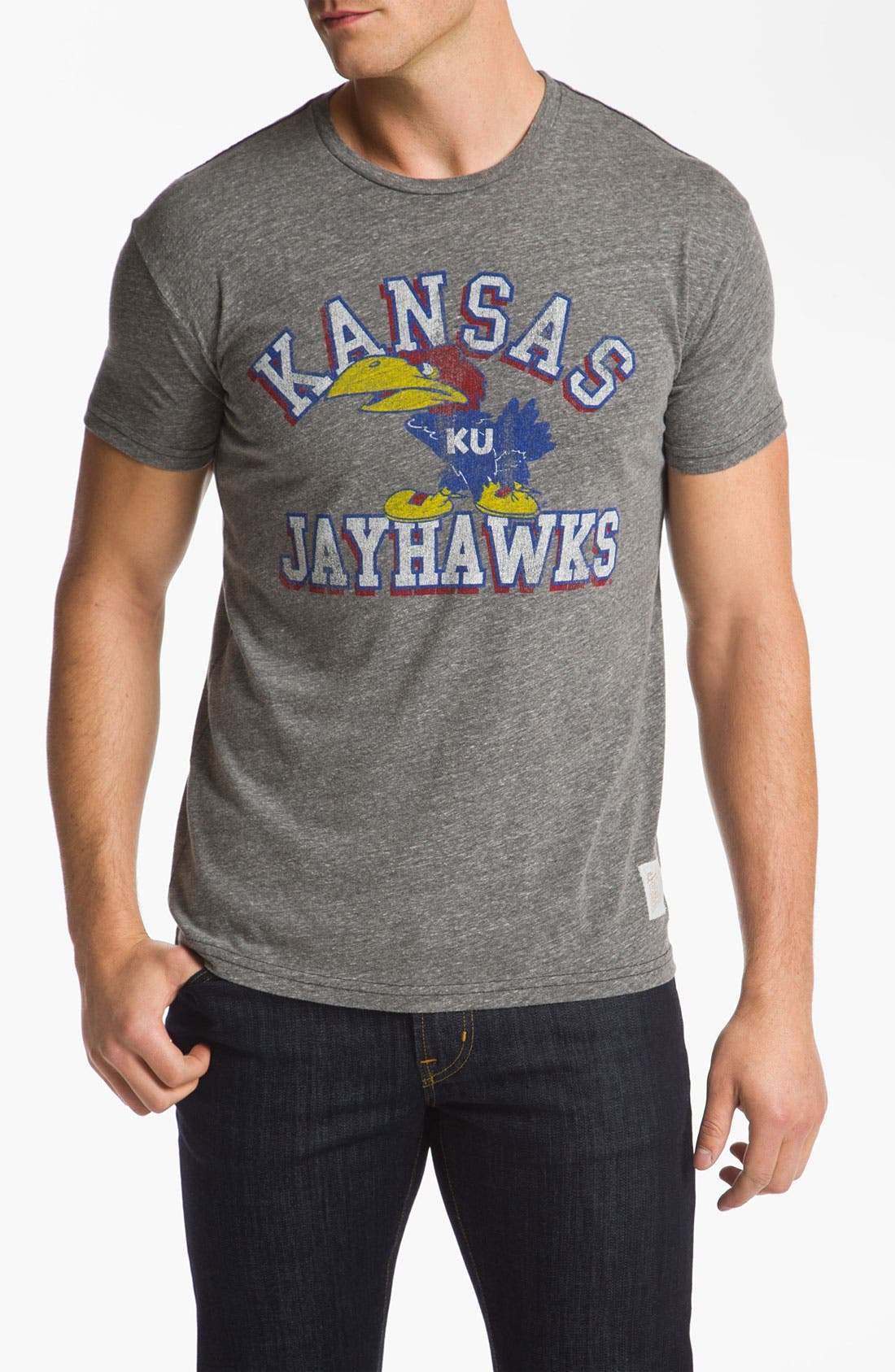 Alternate Image 1 Selected - The Original Retro Brand 'Kansas Jayhawks' T-Shirt
