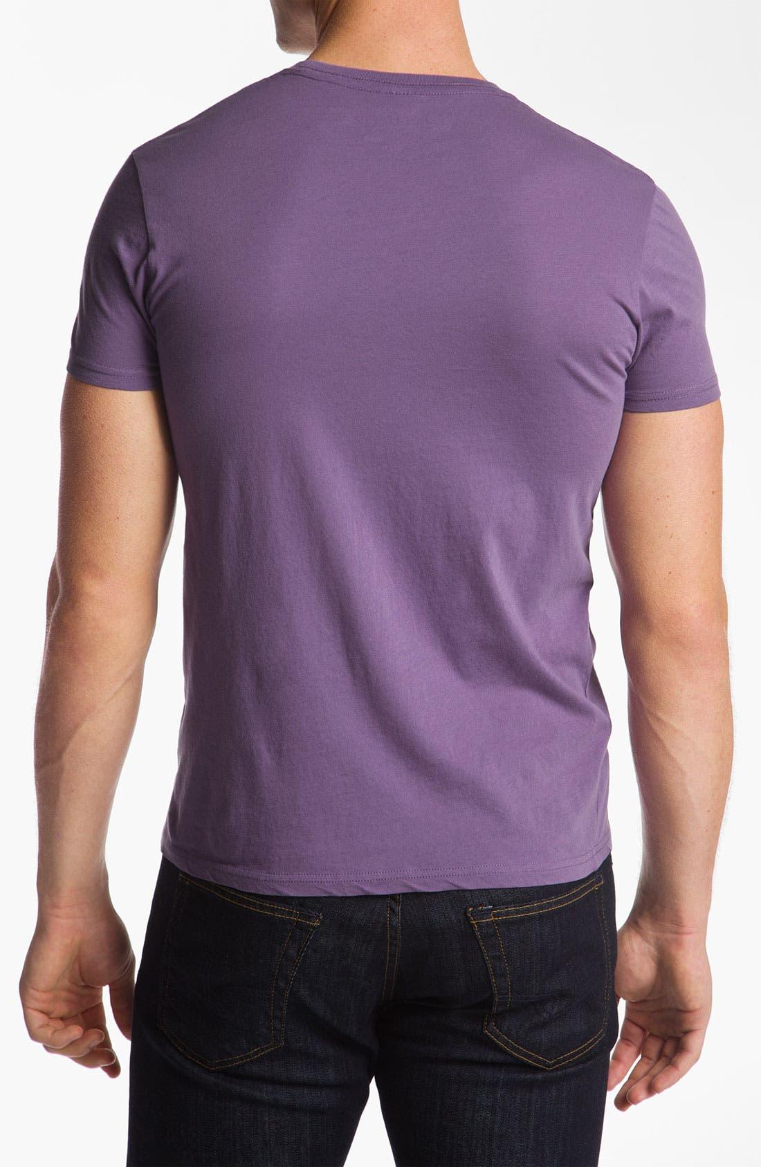 Alternate Image 2  - The Original Retro Brand 'Northwestern Wildcats' T-Shirt
