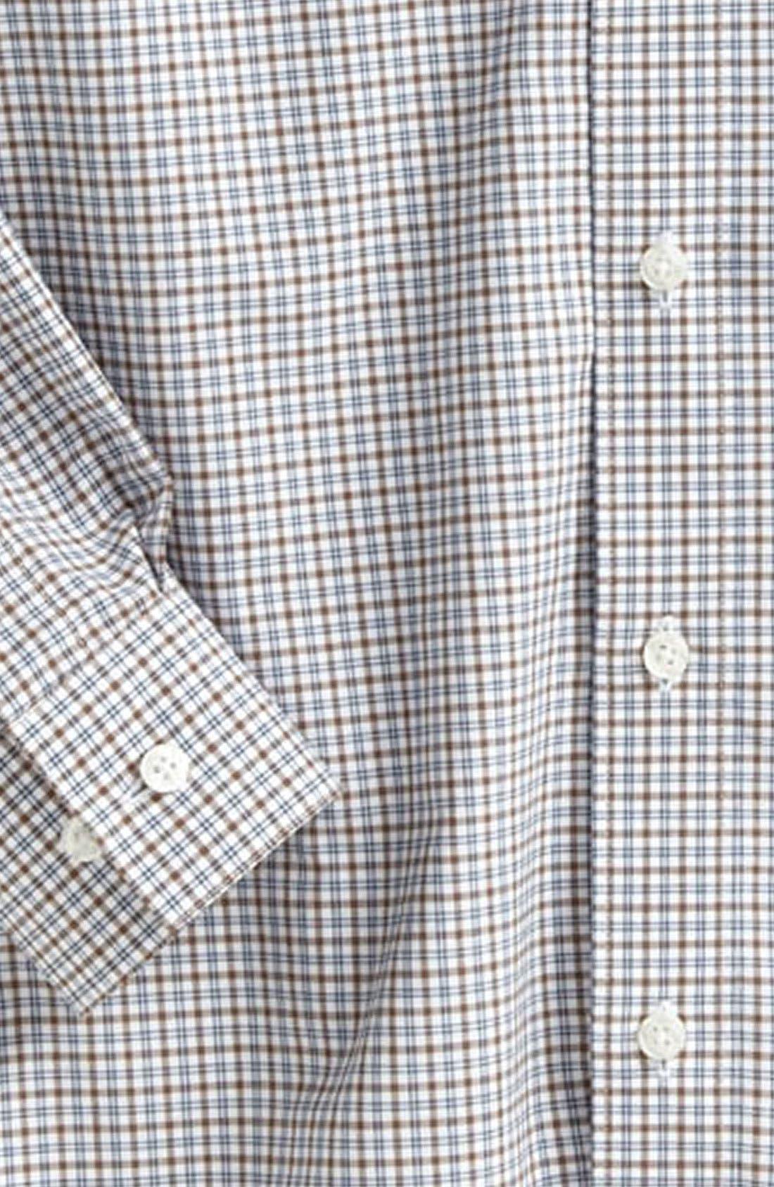 Alternate Image 2  - Nordstrom Gingham Dress Shirt (Little Boys)