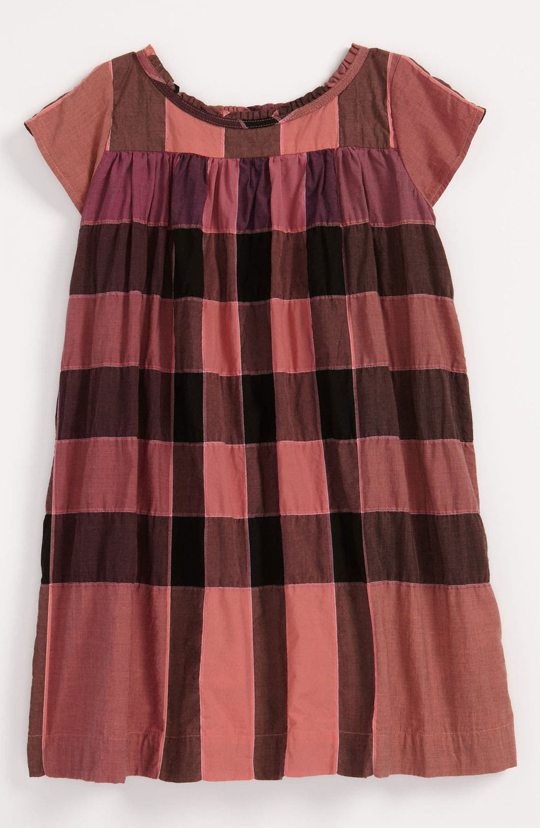 Alternate Image 1 Selected - Burberry Check Print Dress (Baby)