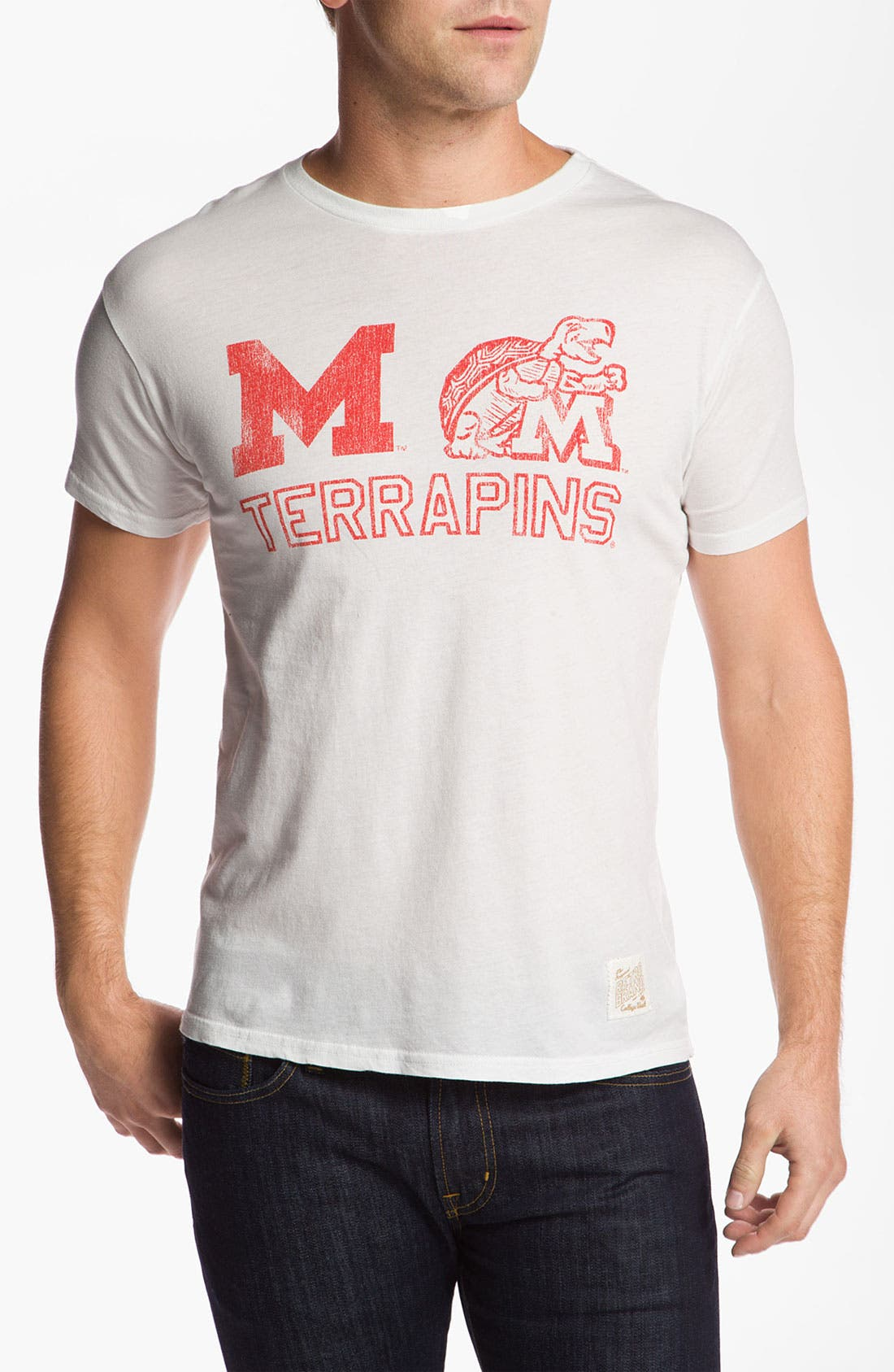Main Image - The Original Retro Brand 'Maryland Terrapins' T-Shirt