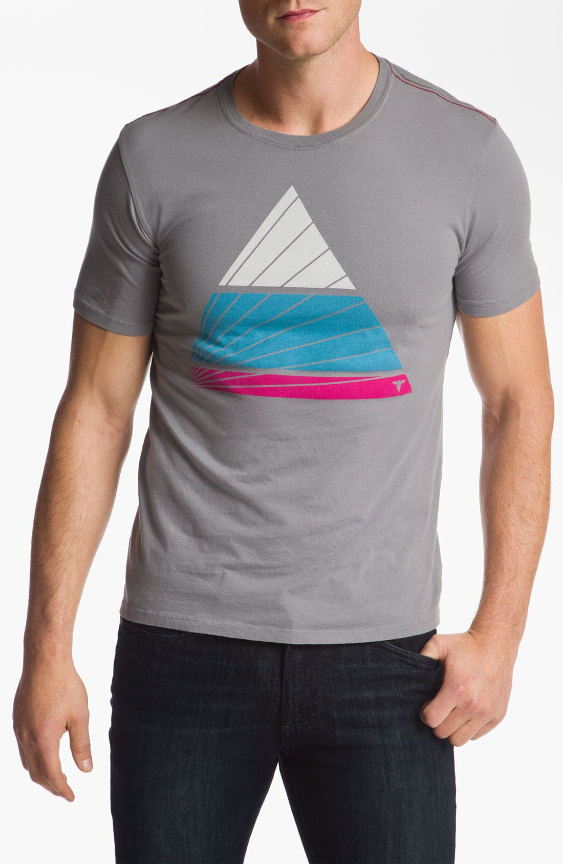 Alternate Image 1 Selected - Topo Ranch 'Wringer Wash Pyramid' Graphic T-Shirt