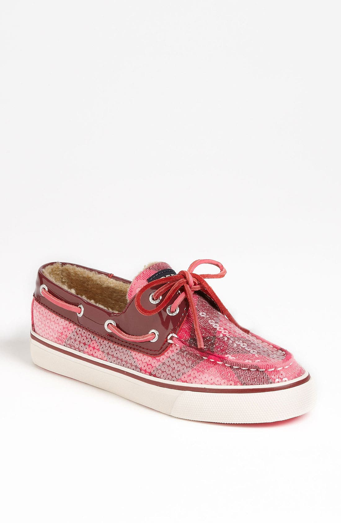 Main Image - Sperry Top-Sider® 'Bahama' Sequined Boat Shoe (Online Only)