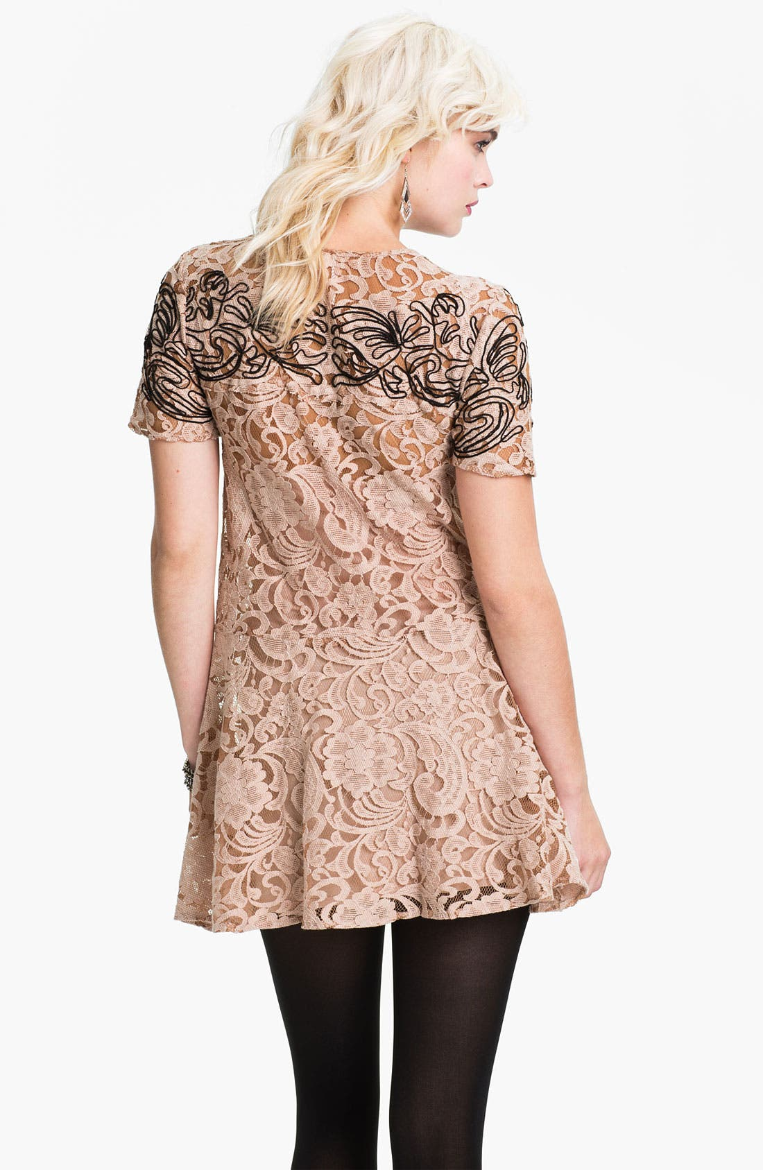 Alternate Image 2  - Free People 'Beautiful Dreamer' Lace Dress