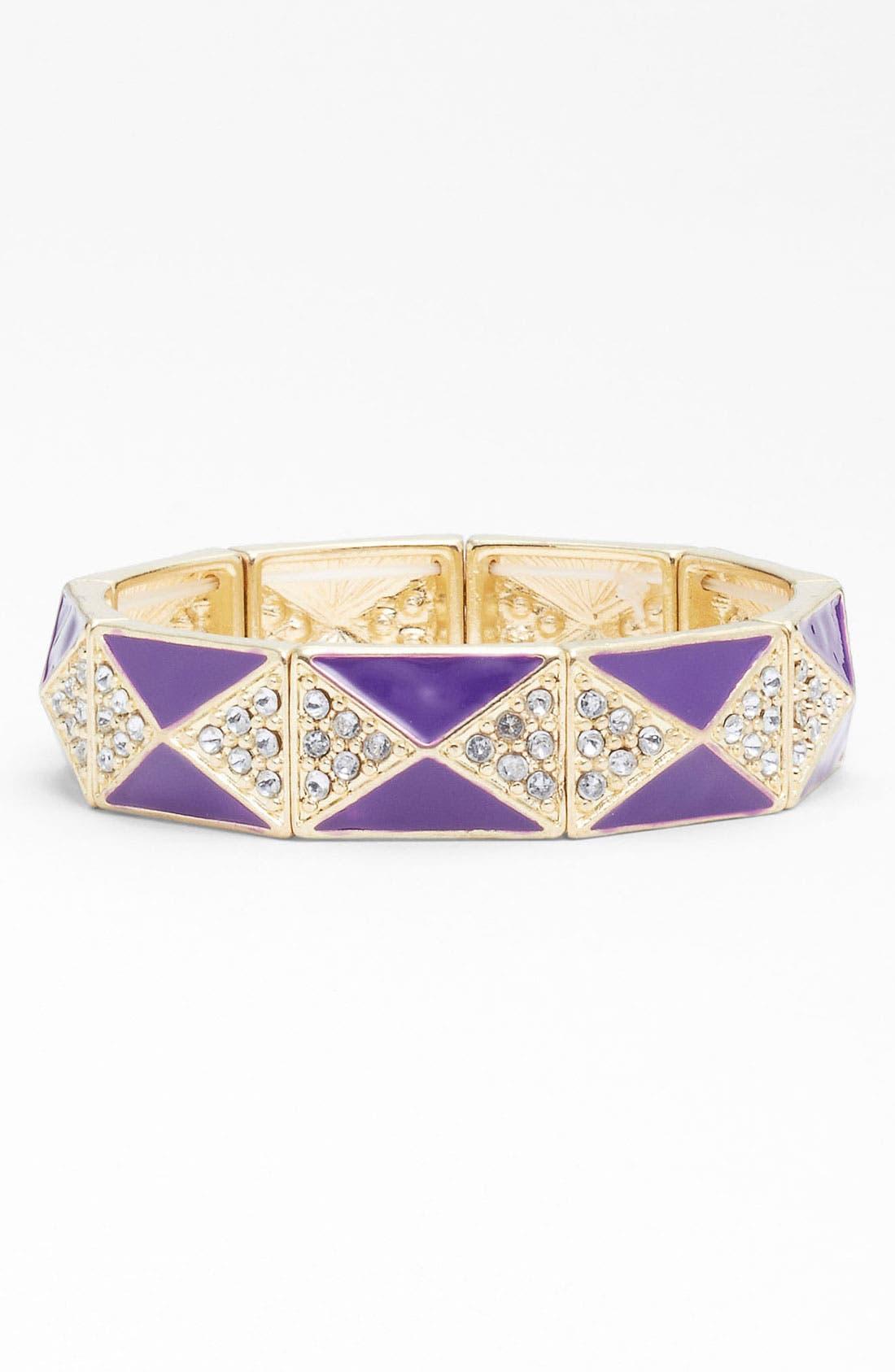 Alternate Image 1 Selected - Carole Pyramid Studded Bracelet