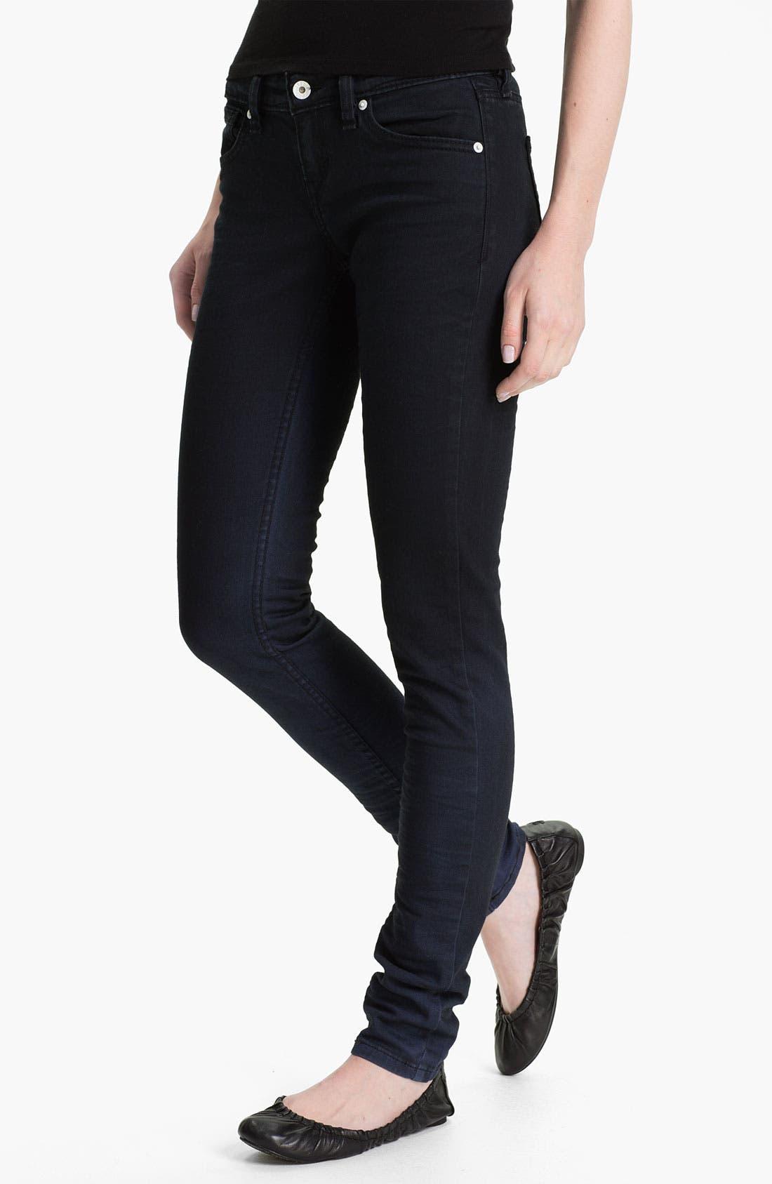 Alternate Image 1 Selected - Levi's® Denim Leggings (Faded Blue)