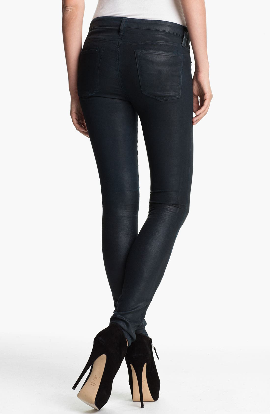 Alternate Image 1 Selected - HELMUT Helmut Lang 'Gloss' Skinny Jeans
