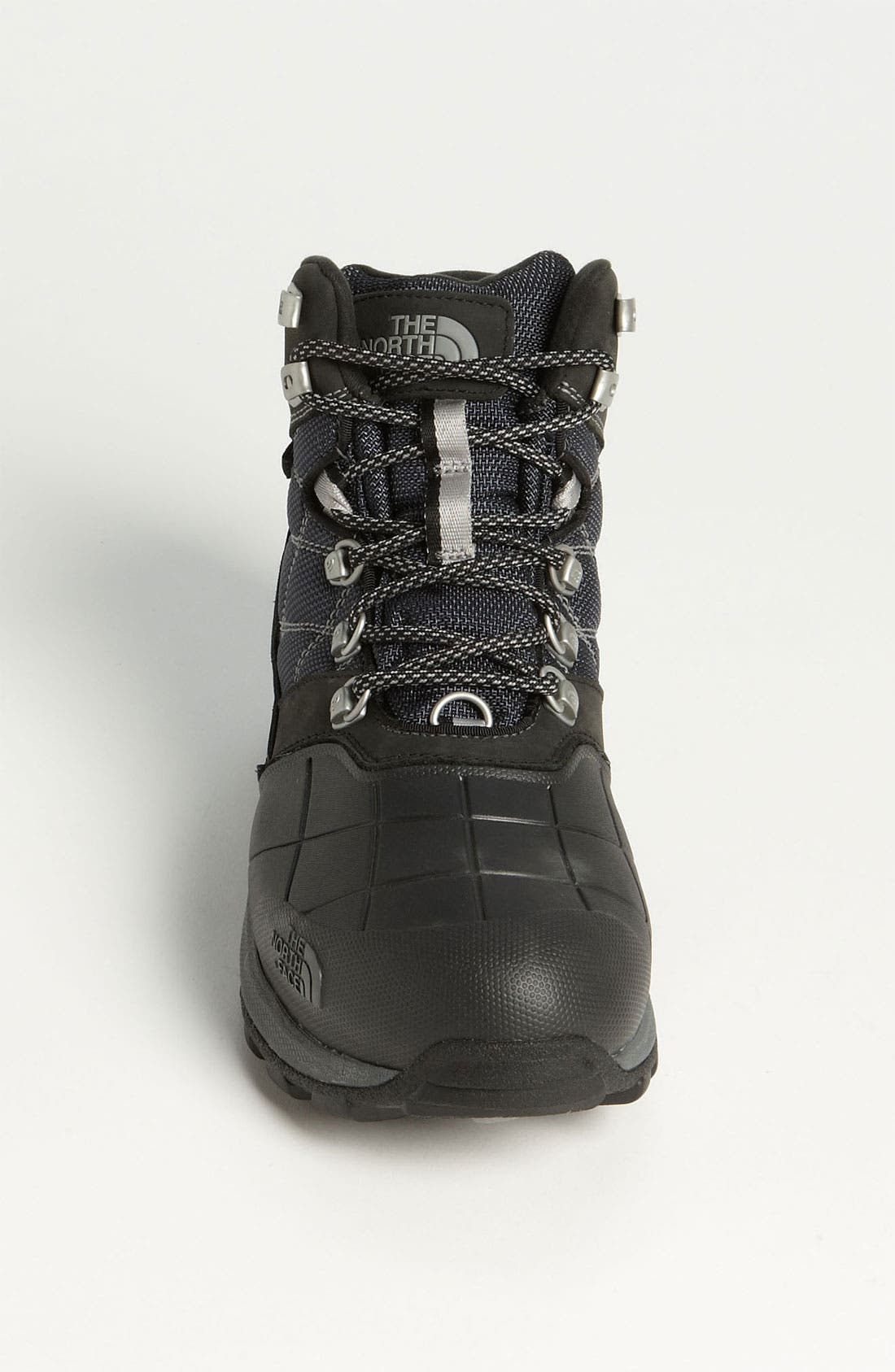'Snowsquall' Snow Boot,                             Alternate thumbnail 3, color,                             Black/ Griffin Grey