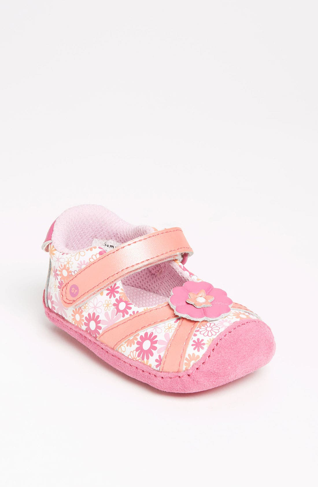 Alternate Image 1 Selected - Stride Rite 'Crawl Pretty - Lynley' Mary Jane (Baby)