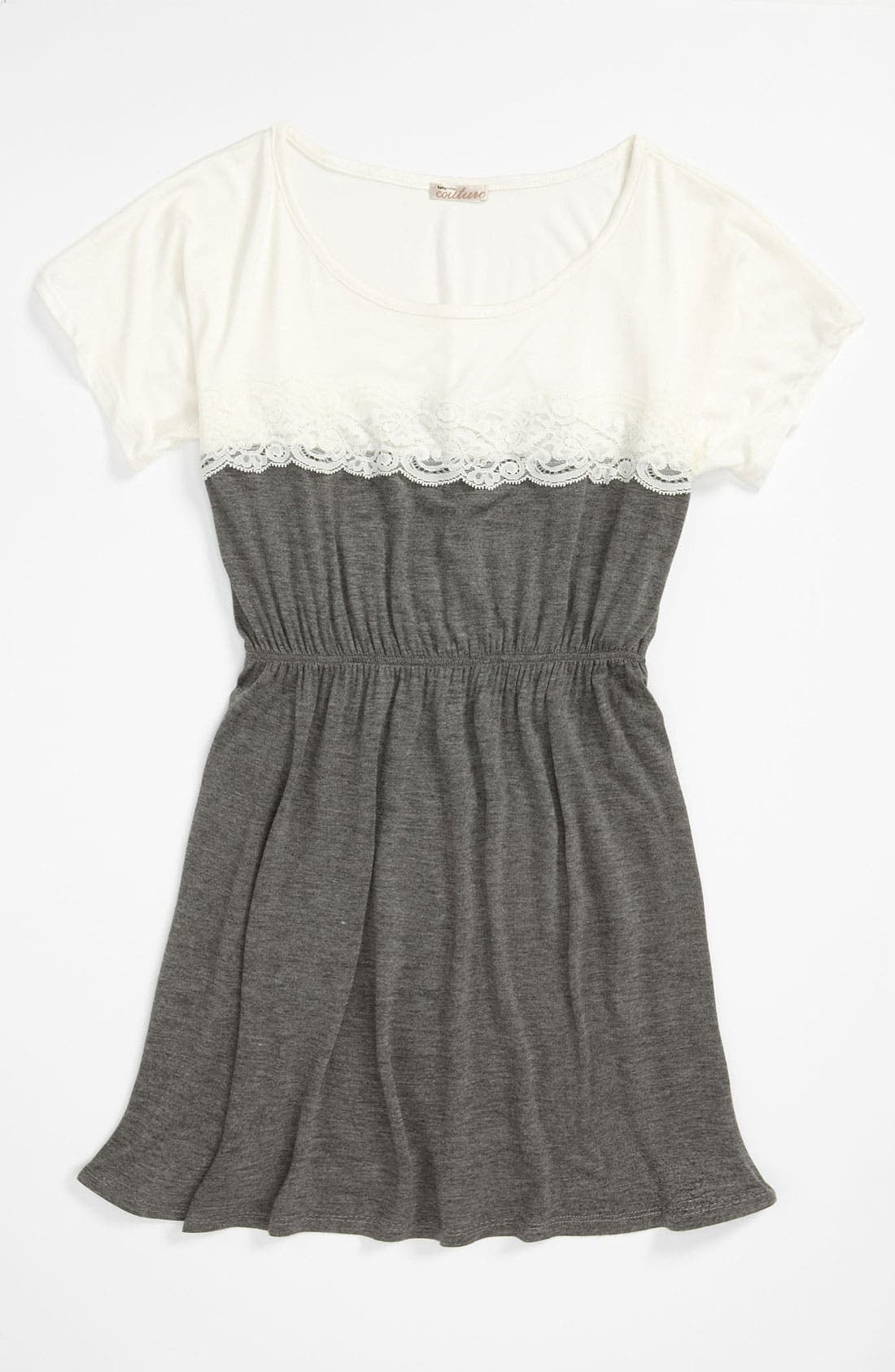 Alternate Image 1 Selected - Sally Miller Colorblock Lace Dress (Big Girls)