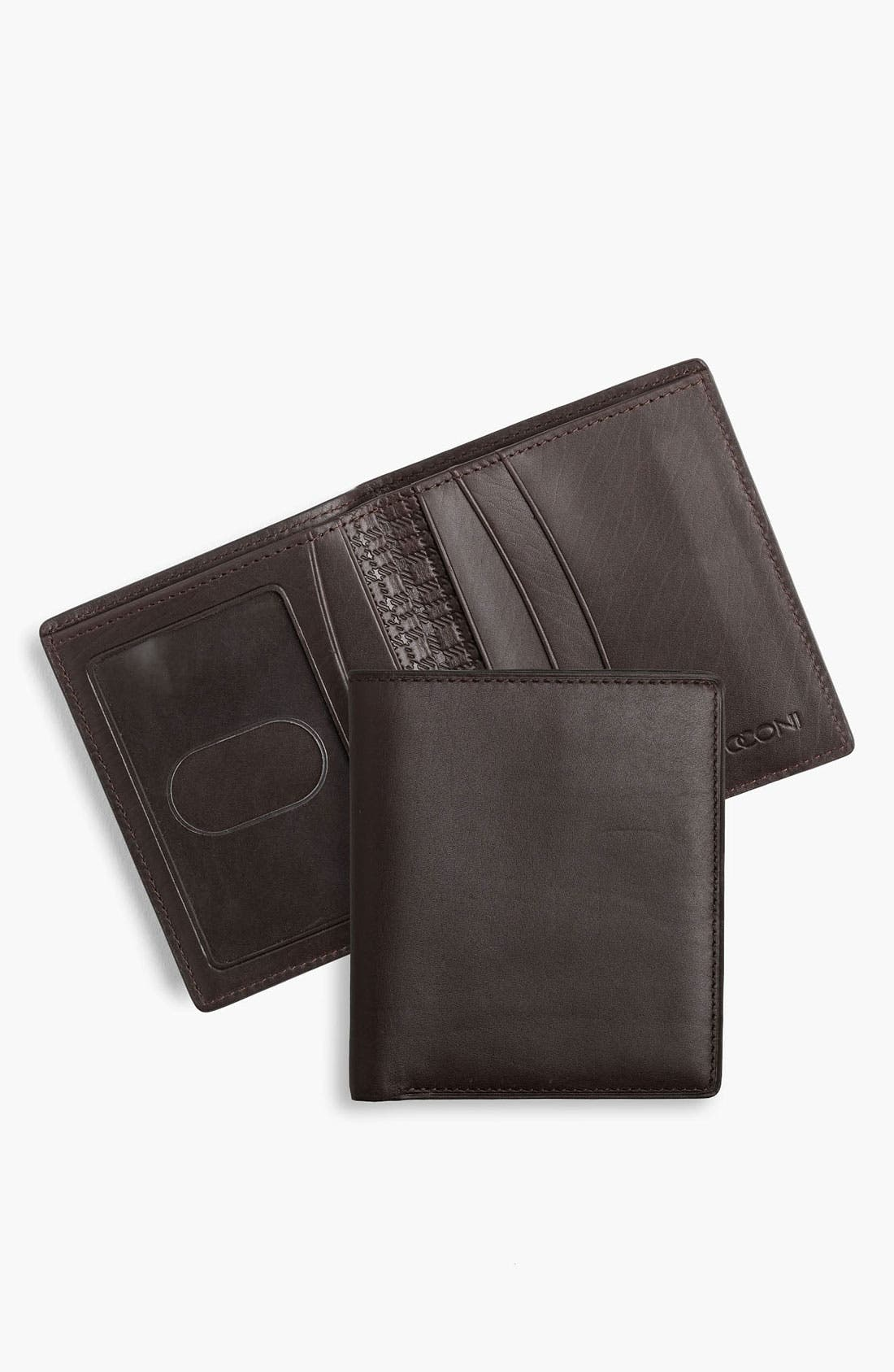 Alternate Image 1 Selected - Boconi 'Xavier' Compact Wallet