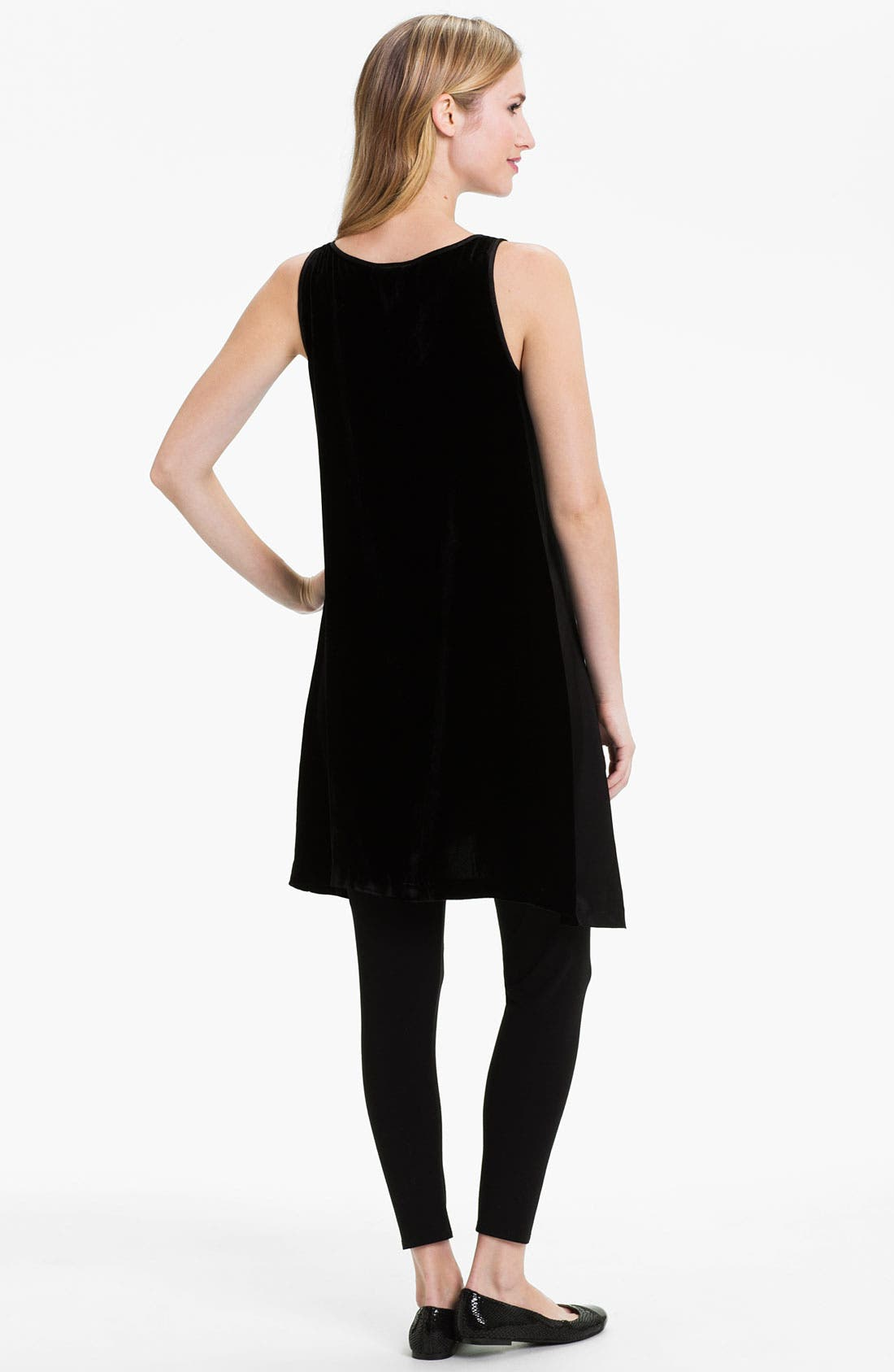 Alternate Image 2  - Eileen Fisher Velvet Layering Dress