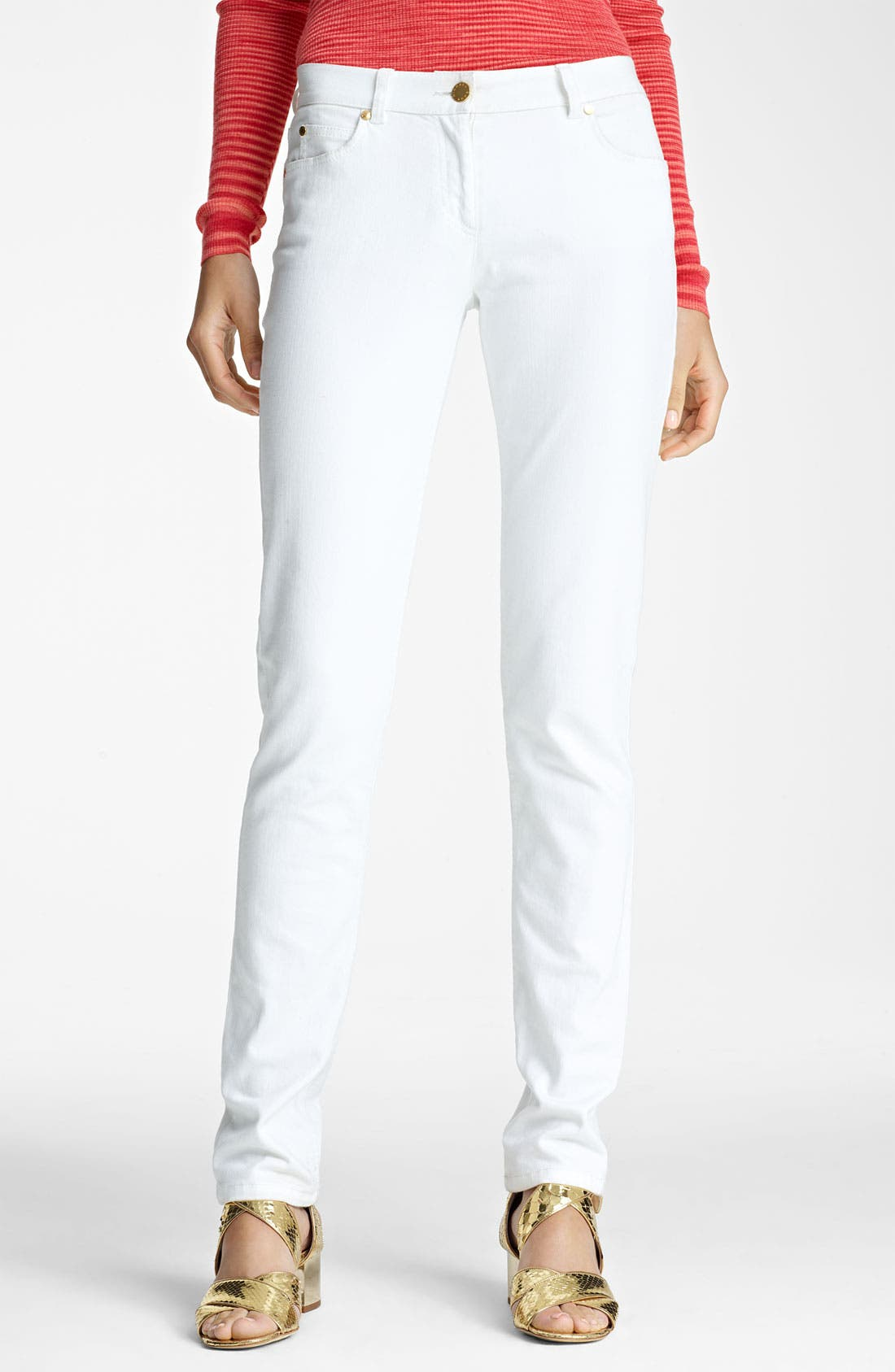 Alternate Image 1 Selected - Michael Kors Stovepipe Stretch Jeans