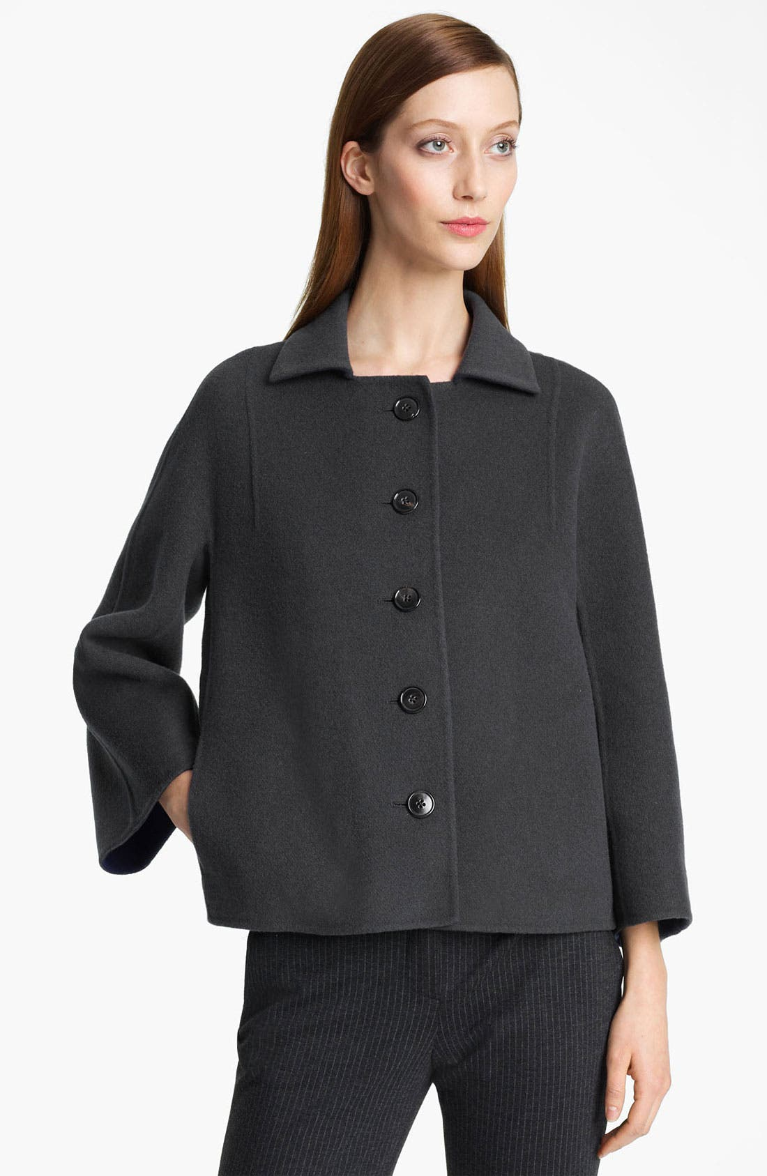 Alternate Image 1 Selected - Jil Sander Double Face Wool Jacket
