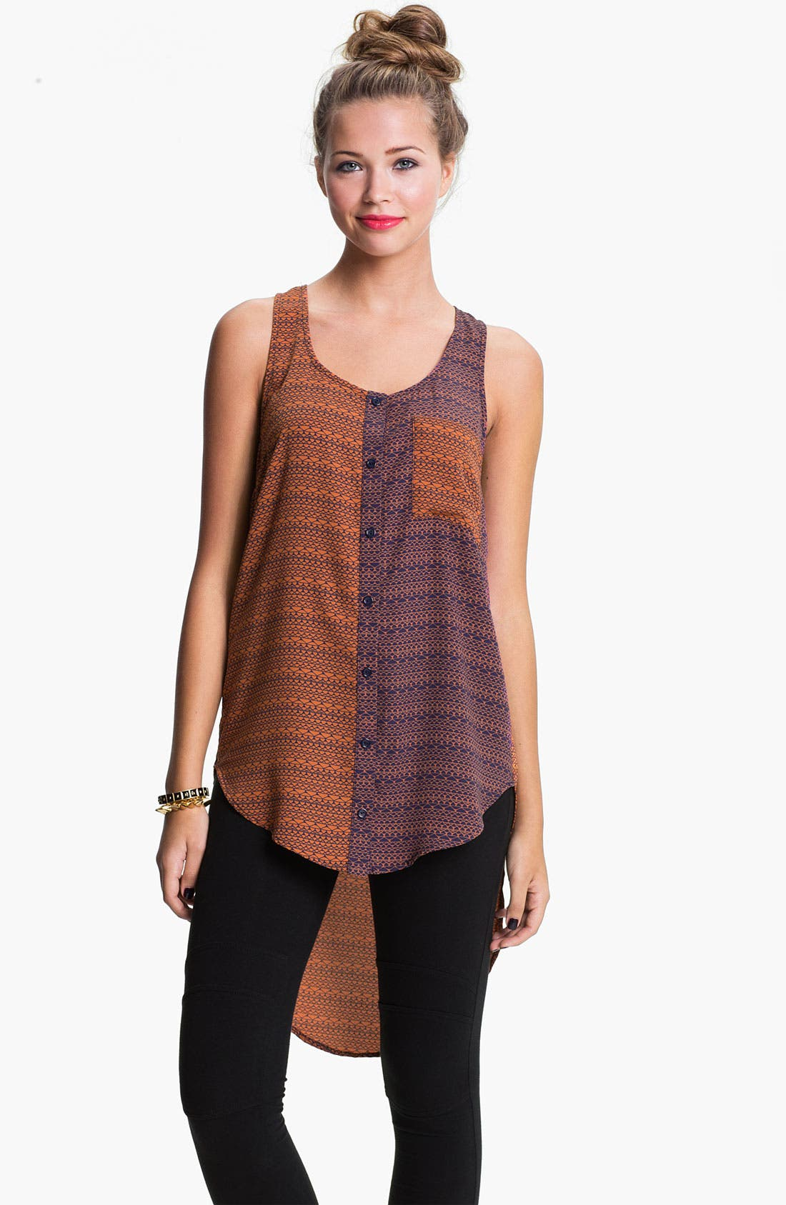 Alternate Image 1 Selected - Mix Print High/Low Tank