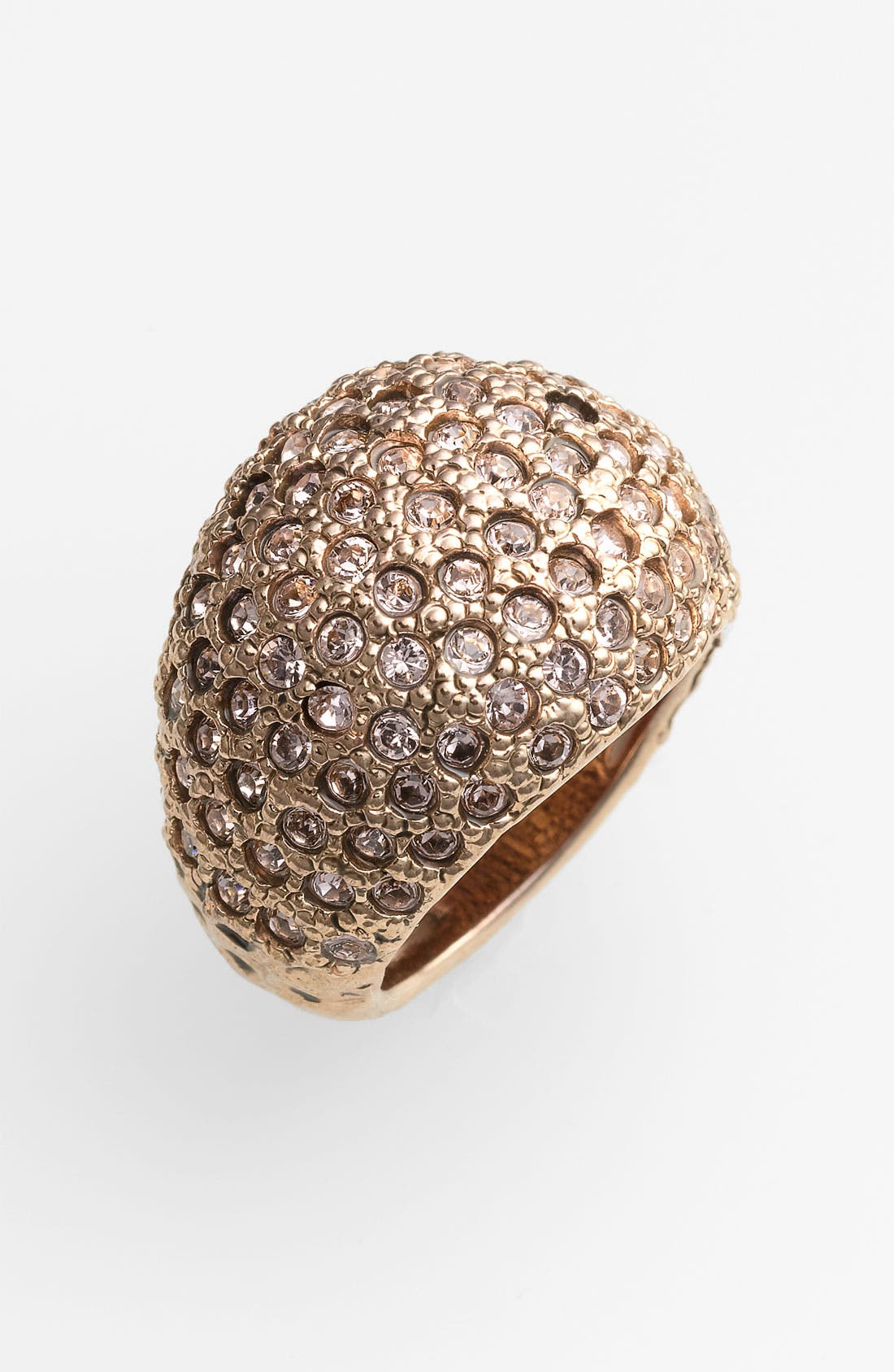 Alternate Image 1 Selected - St. John Collection Antique Rose Gold & Crystal Ring