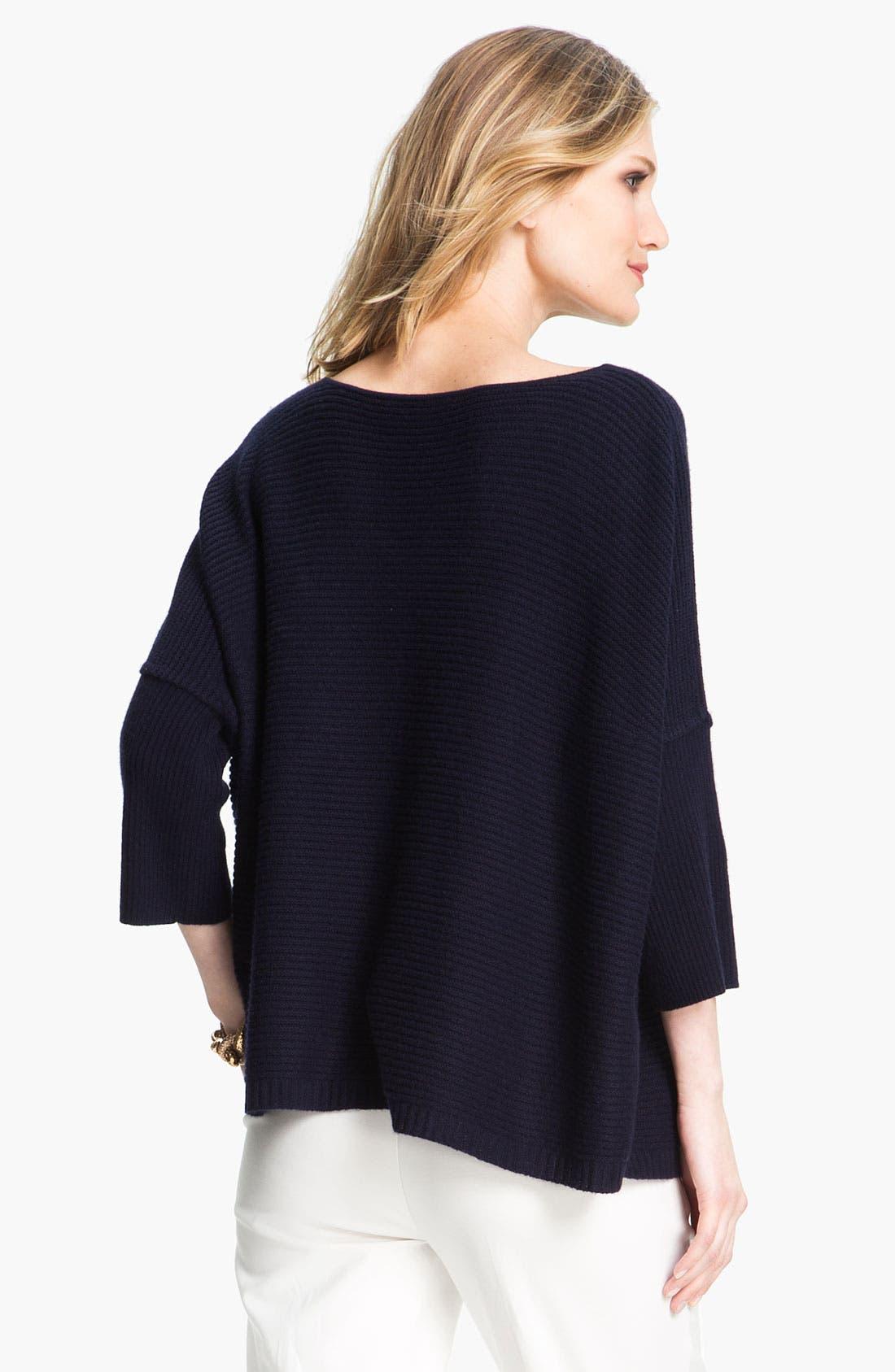Alternate Image 3  - St. John Yellow Label Ottoman Cashmere Sweater