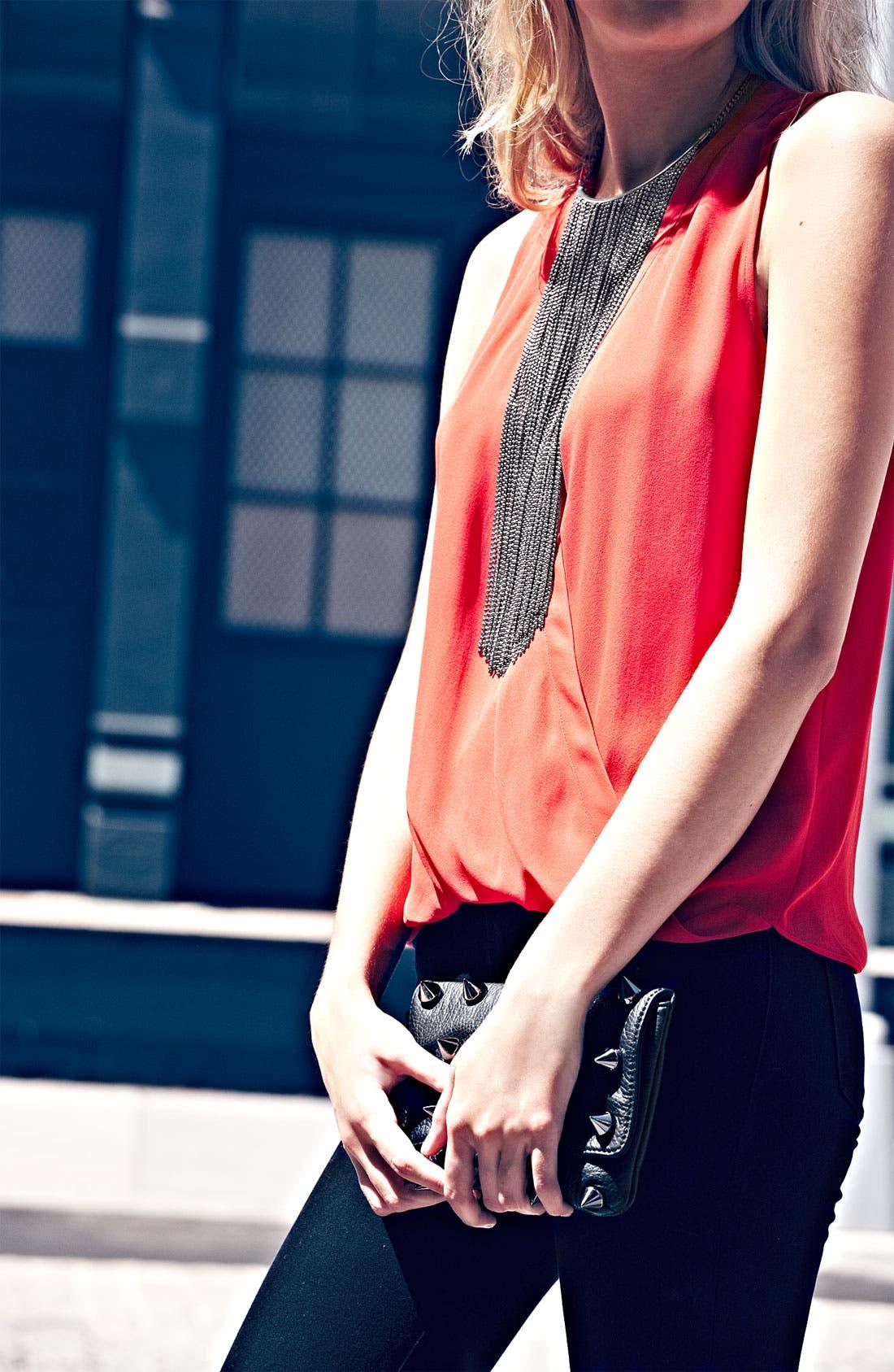 Alternate Image 2  - Natasha Couture Fringe Bib Necklace