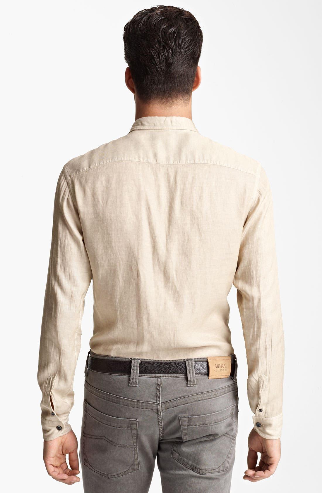 Alternate Image 2  - Armani Collezioni Sport Shirt