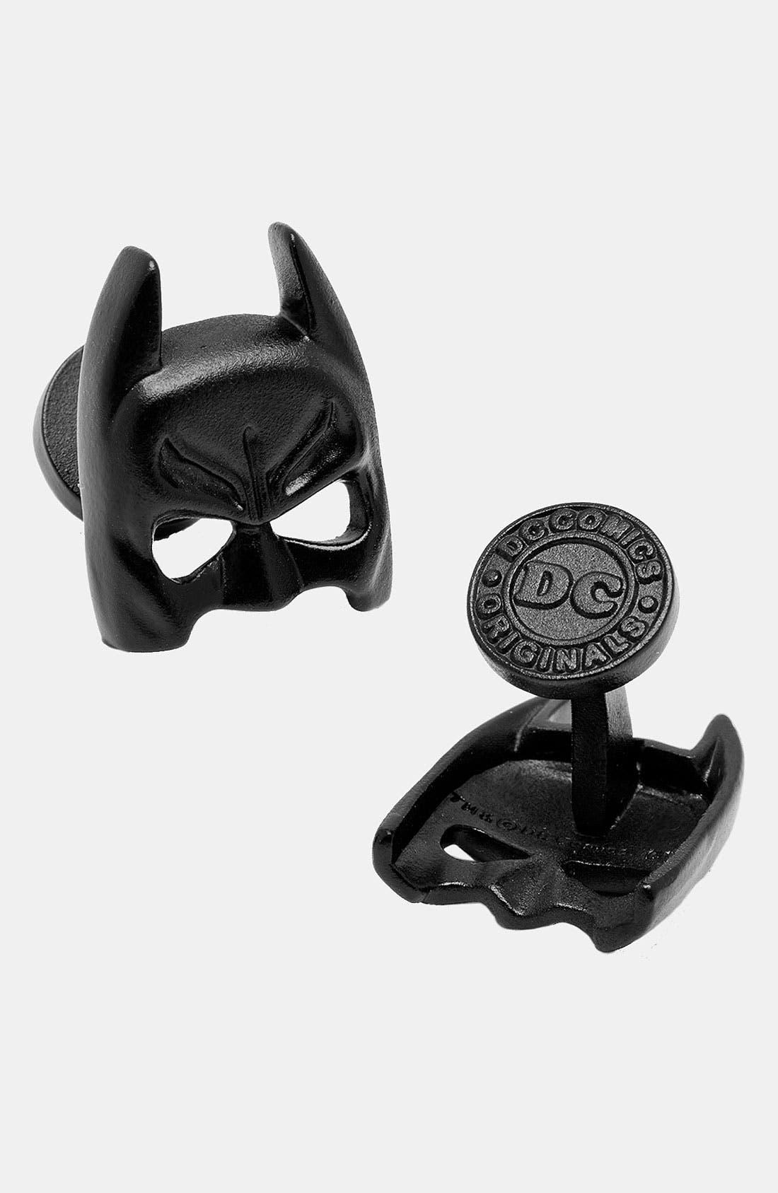 Alternate Image 1 Selected - Cufflinks, Inc. 'Batman Mask' Cuff Links