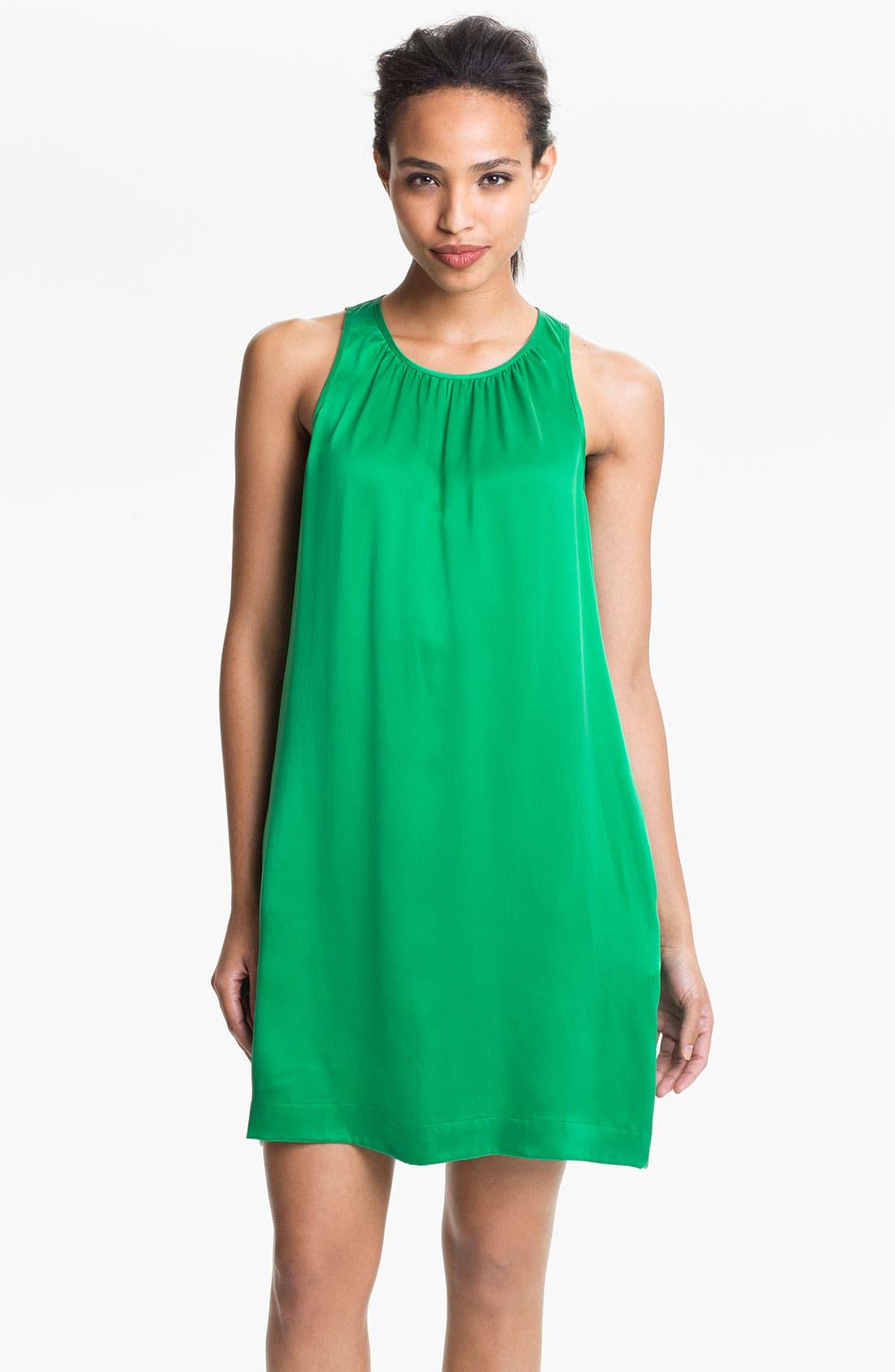 Main Image - Max & Mia Sleeveless Silk Dress