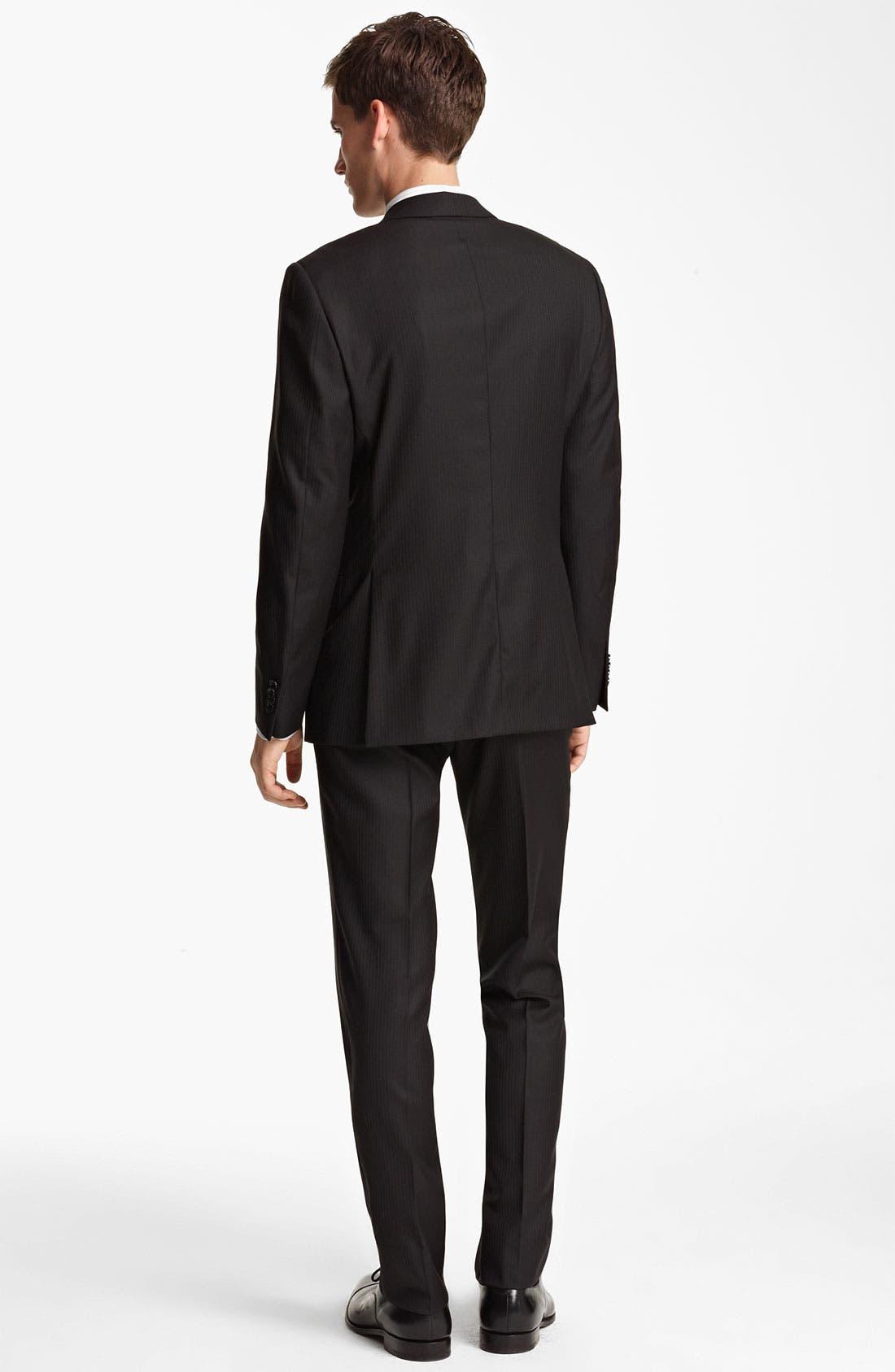 Alternate Image 3  - Z Zegna Trim Fit Herringbone Suit