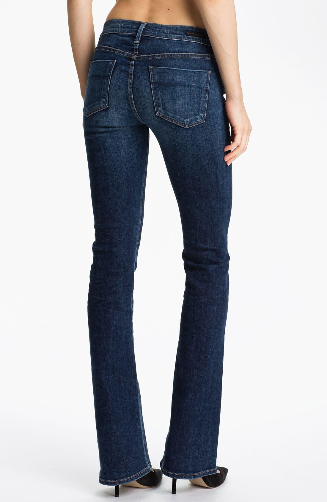 Alternate Image 2  - Citizens of Humanity 'Emmanuelle' Slim Bootcut Jeans (Crispy)