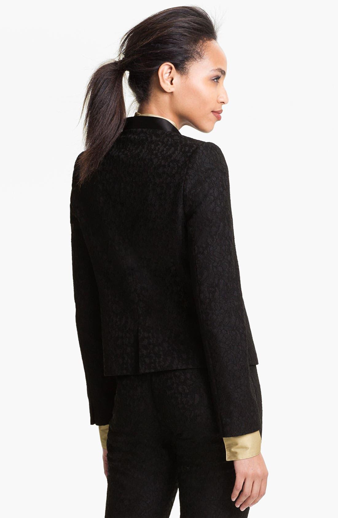 Alternate Image 2  - Vince Camuto Lace Jacket