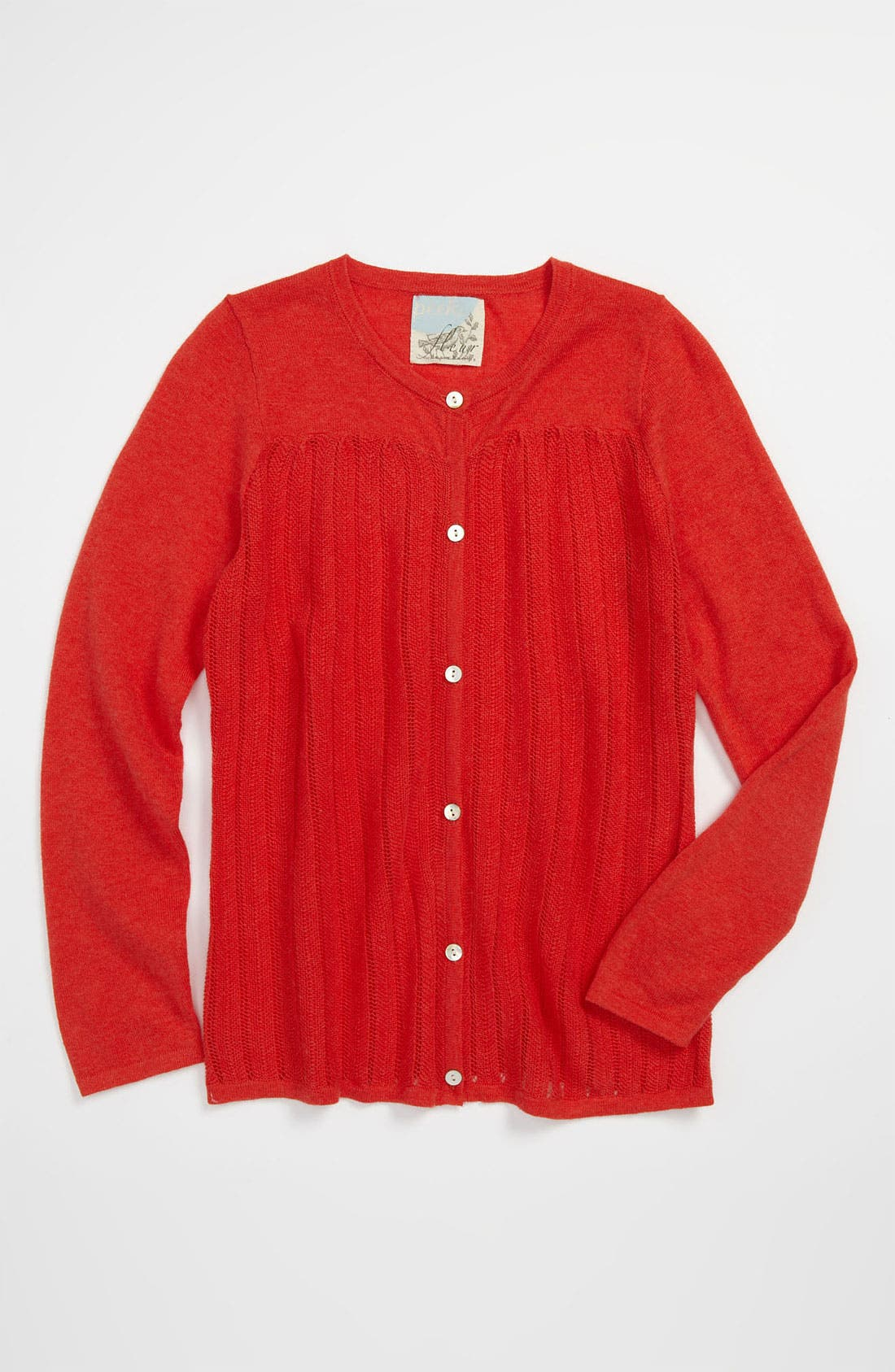 Alternate Image 1 Selected - Peek 'Lillian' Cardigan (Toddler, Little Girls & Big Girls)