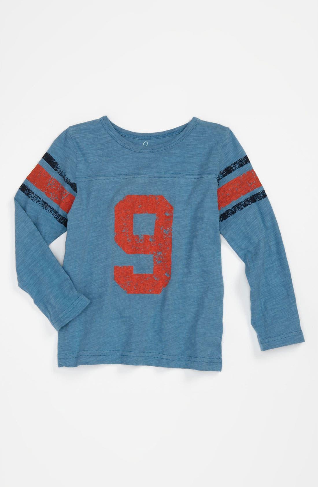 Alternate Image 1 Selected - Peek Long Sleeve Jersey Top (Infant)